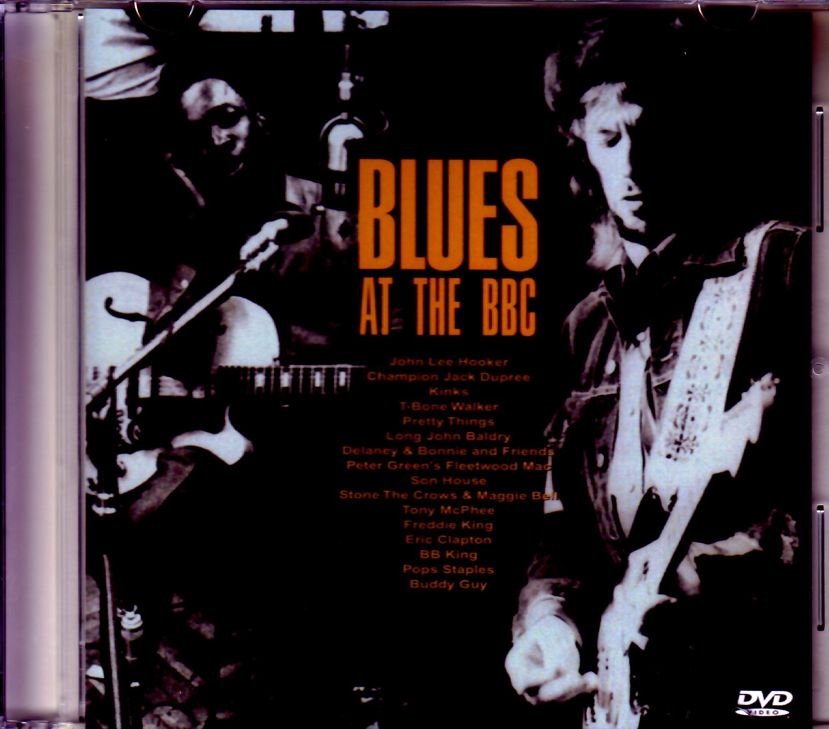 Various Artists BB King,Fleetwood Mac,Eric Clapton,Kinks/Live Compilation from 1964-1992
