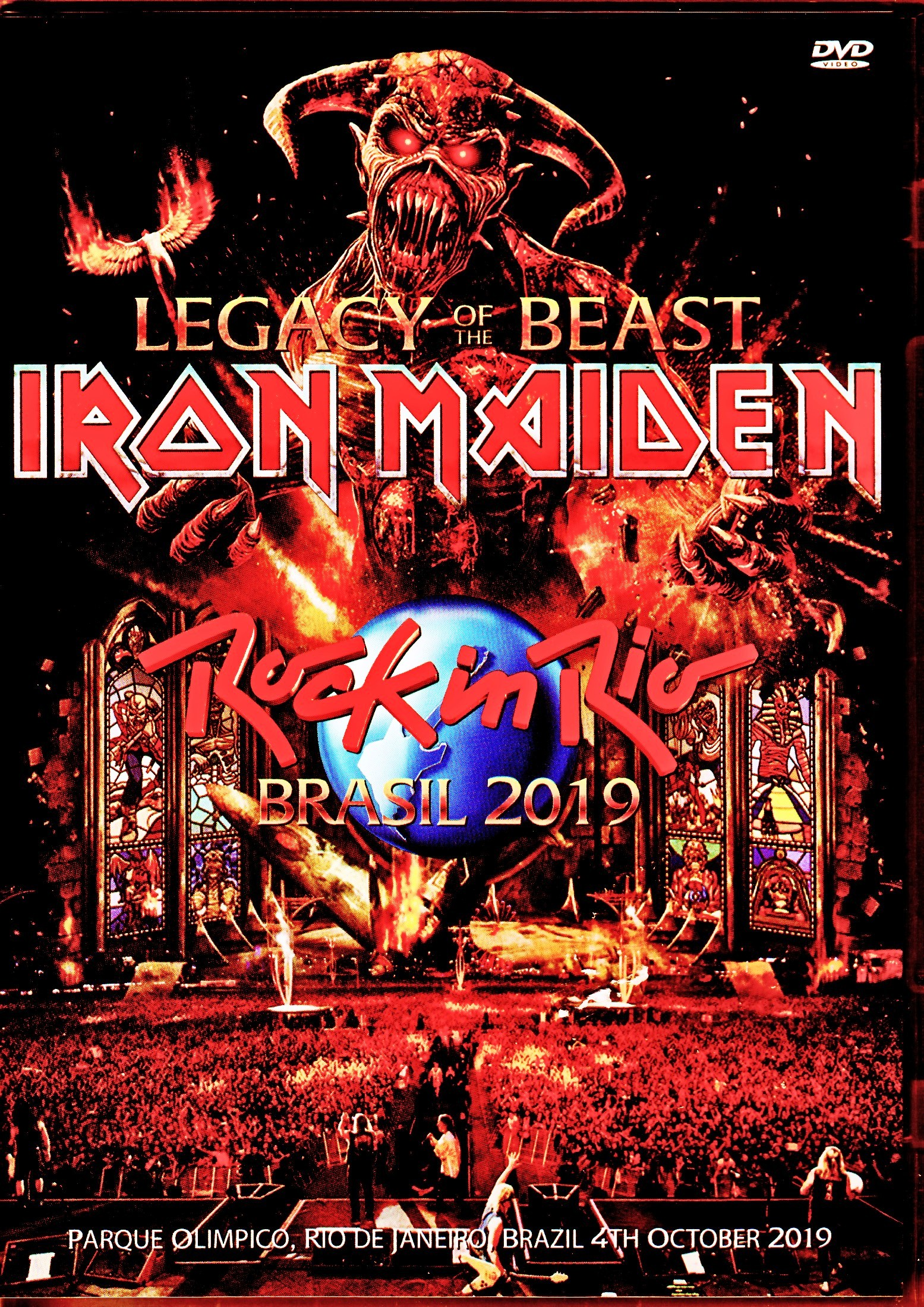 Iron Maiden アイアン・メイデン/Brazil 2019 Upgrade & more