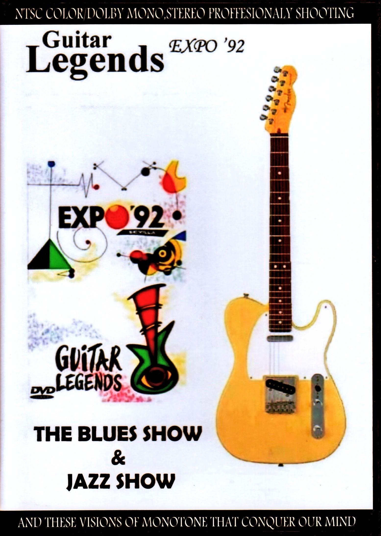 Various Artists Albert Collins,B.B. King,Larry Coyrell,Stanley Clarke,Bo Diddley,Geroge Benson/Spain 1992