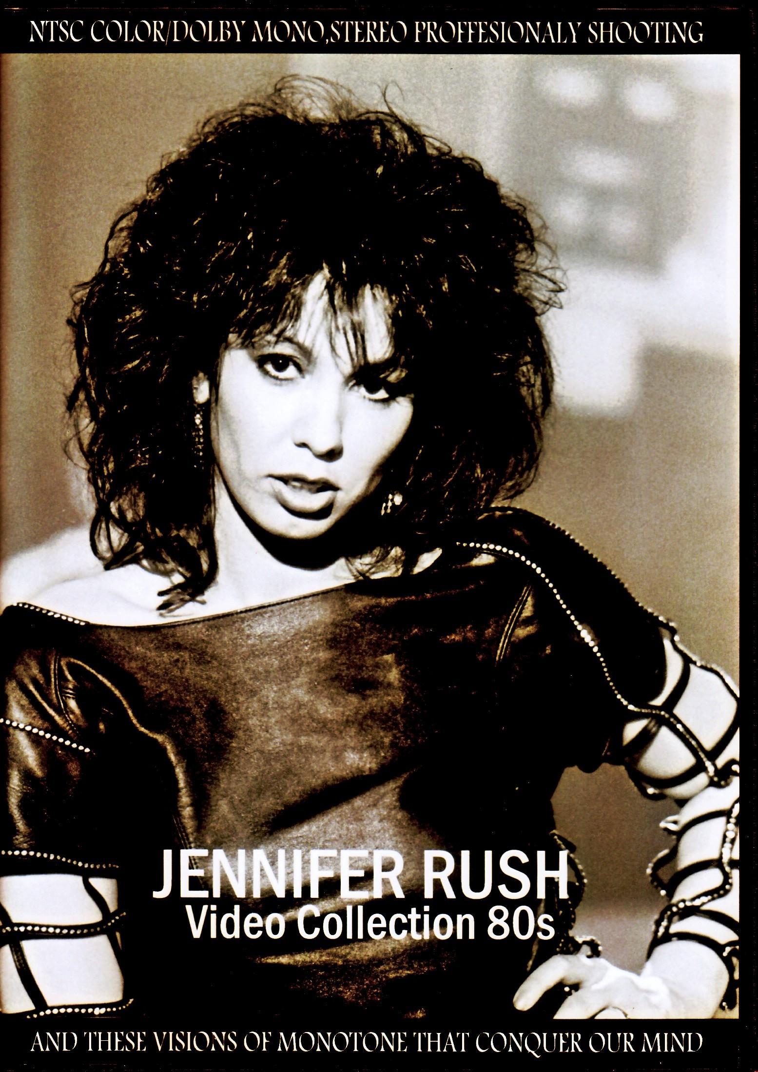 Jennifer Rush ジェニファー・ラッシュ/Video Collection 1980's
