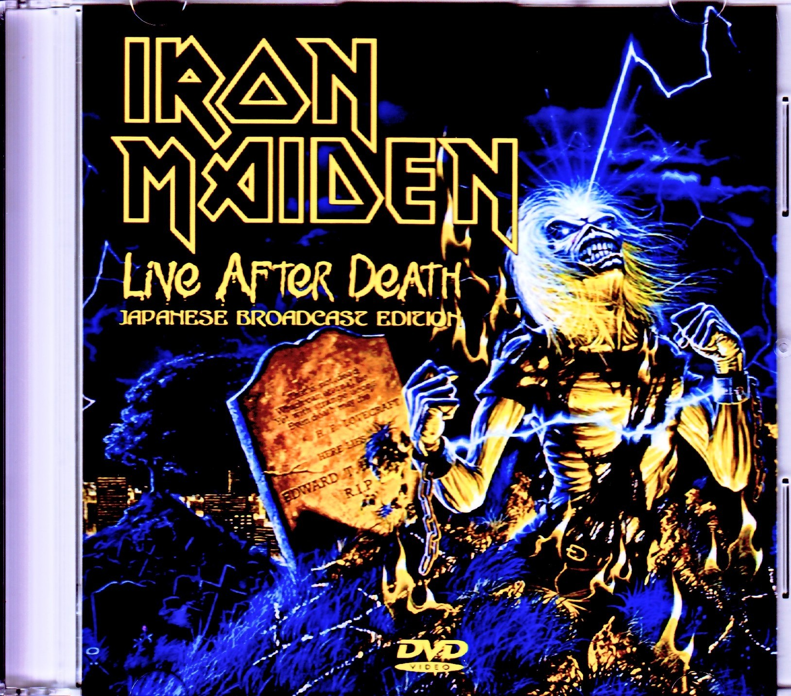 Iron Maiden アイアン・メイデン/CA,USA 1985 Japanese Broadcast