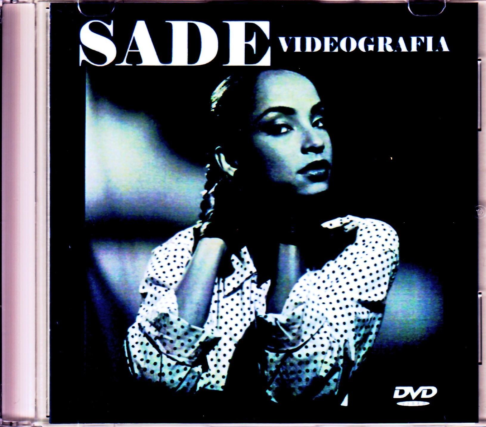 Sade シャーデー/Music Video Collection 1985-2010