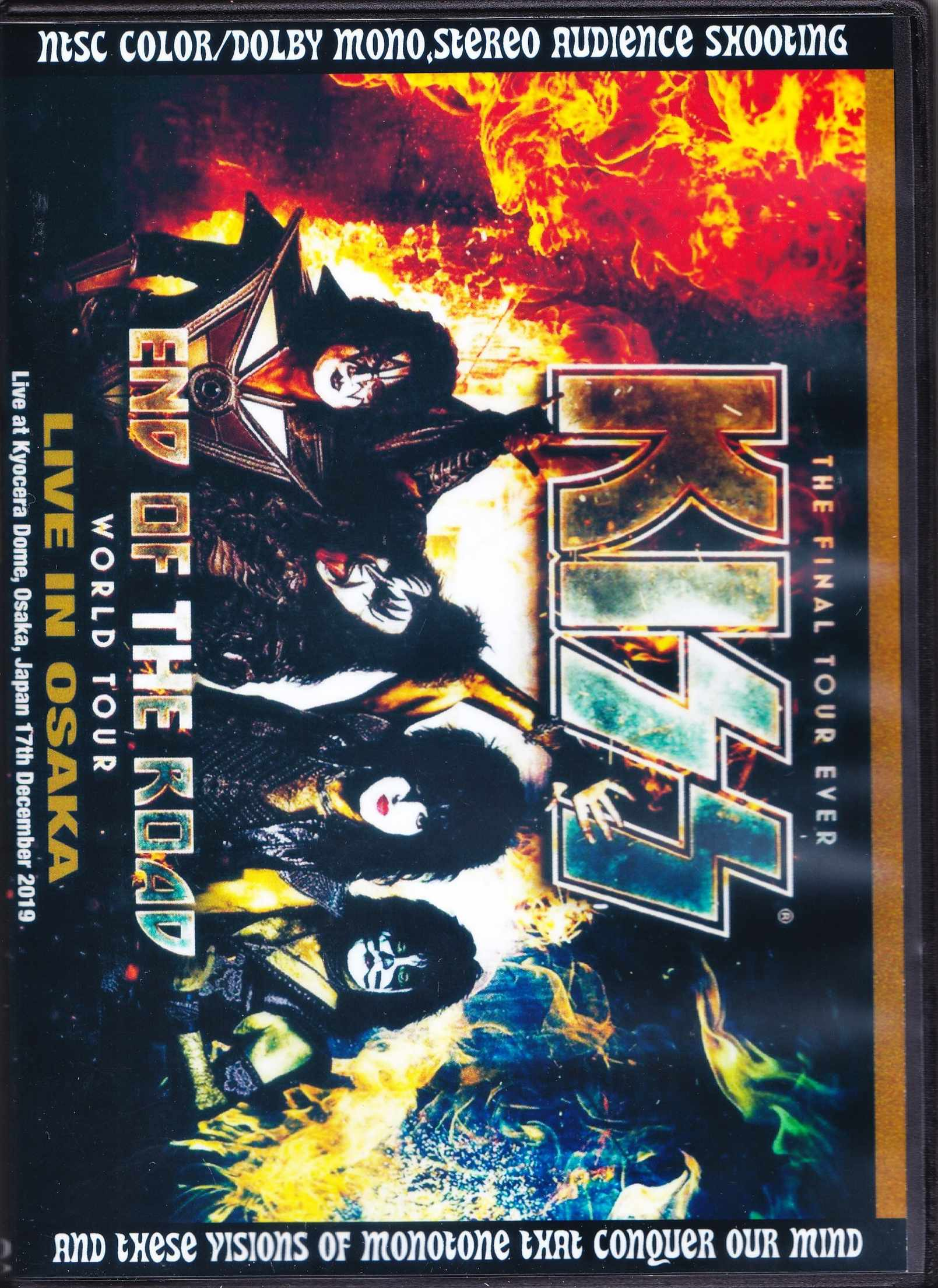 Kiss キッス/Osaka,Japan 2019 Sound IEM Matrix