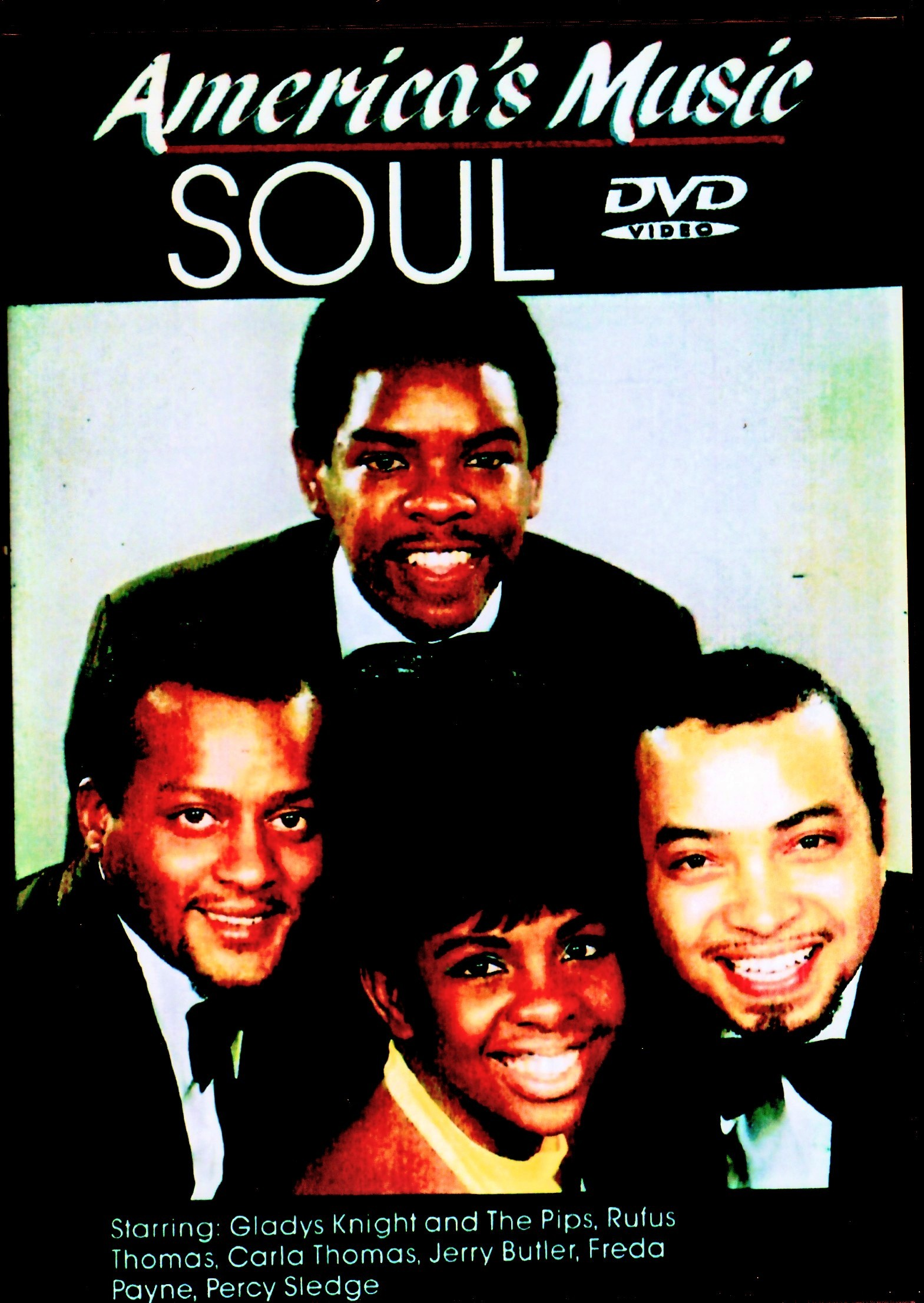Various Artists Rufus Thomas,Gladys Knight and the Pips,Jerry Butler,Percy Sledge/America's Music Soul Vol.1