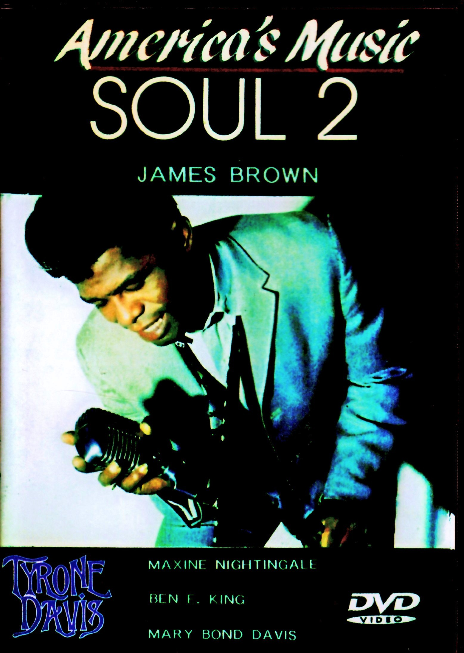Various Artists James Brown,Ben E. King,Tyrone Davis,Maxine Nightingale/America's Music Soul Vol.2