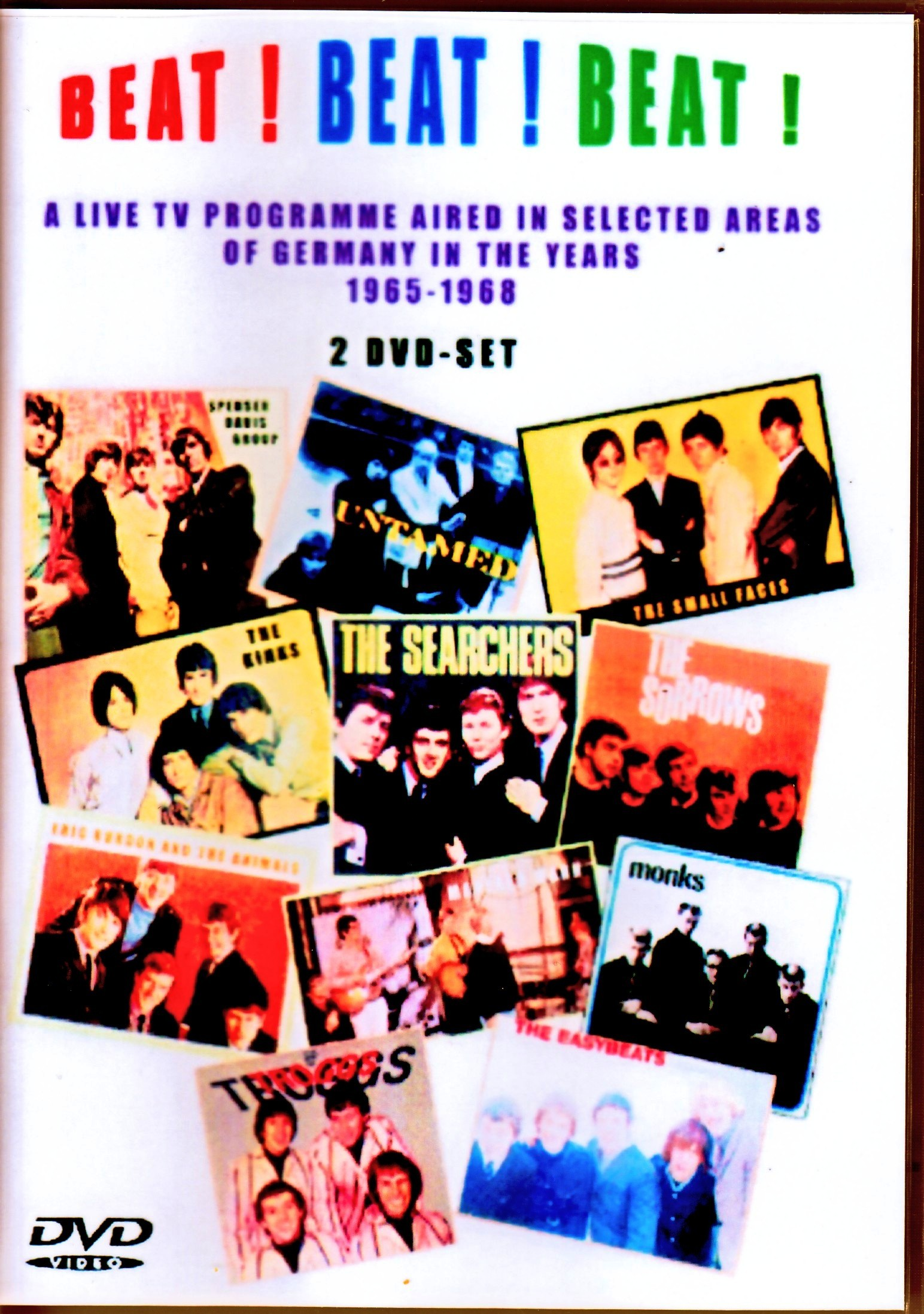 Various Artists Spencer Davis Group,Small Faces,Kinks,Manfred Mann,Animals/Germany TV Program 1965-1968 Vol.1+2