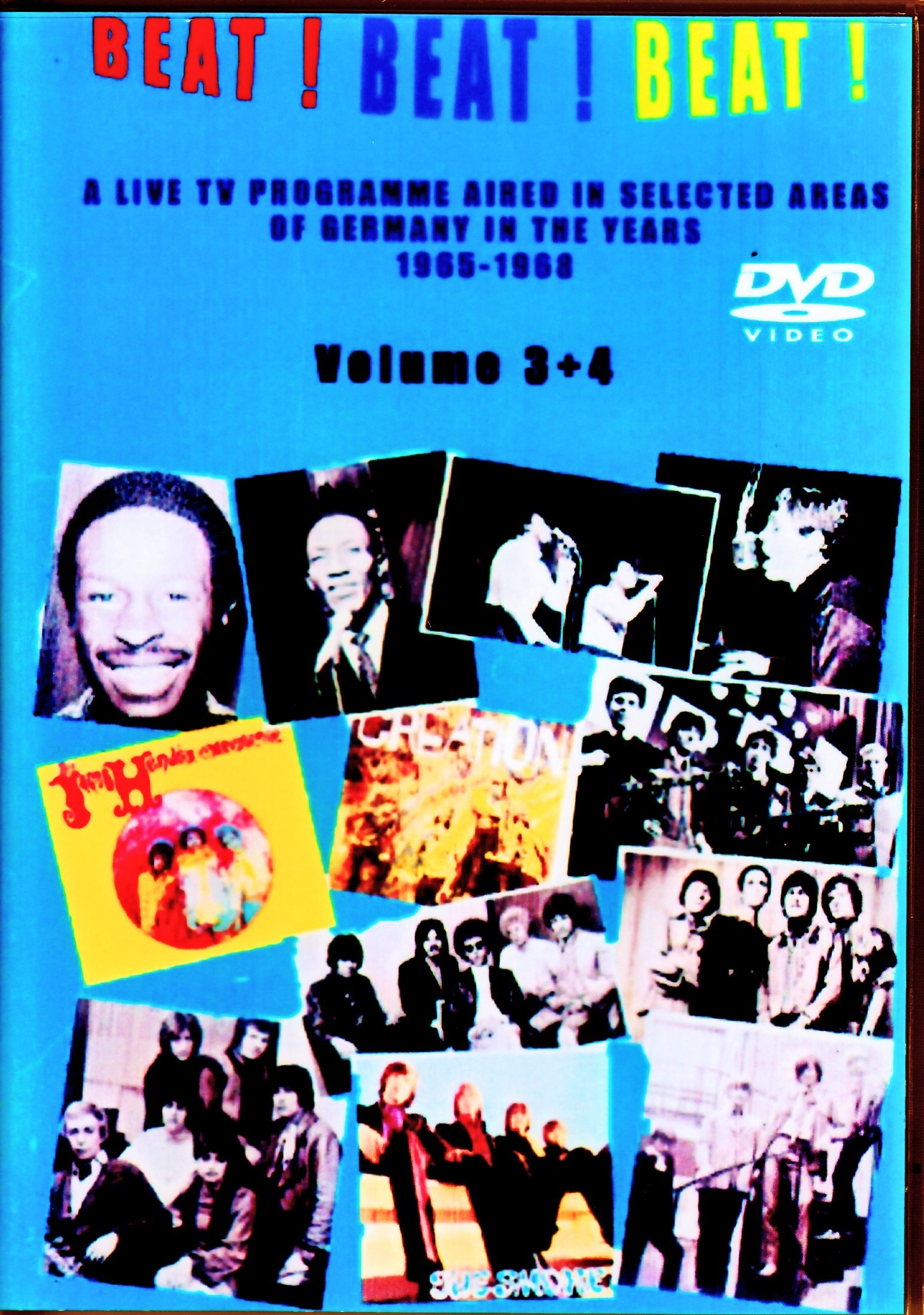 Various Artists Sam & Dave,Move,Hollies,Jimi Hendrix,Yardbirds/Germany TV Program 1965-1968 Vol.3+4