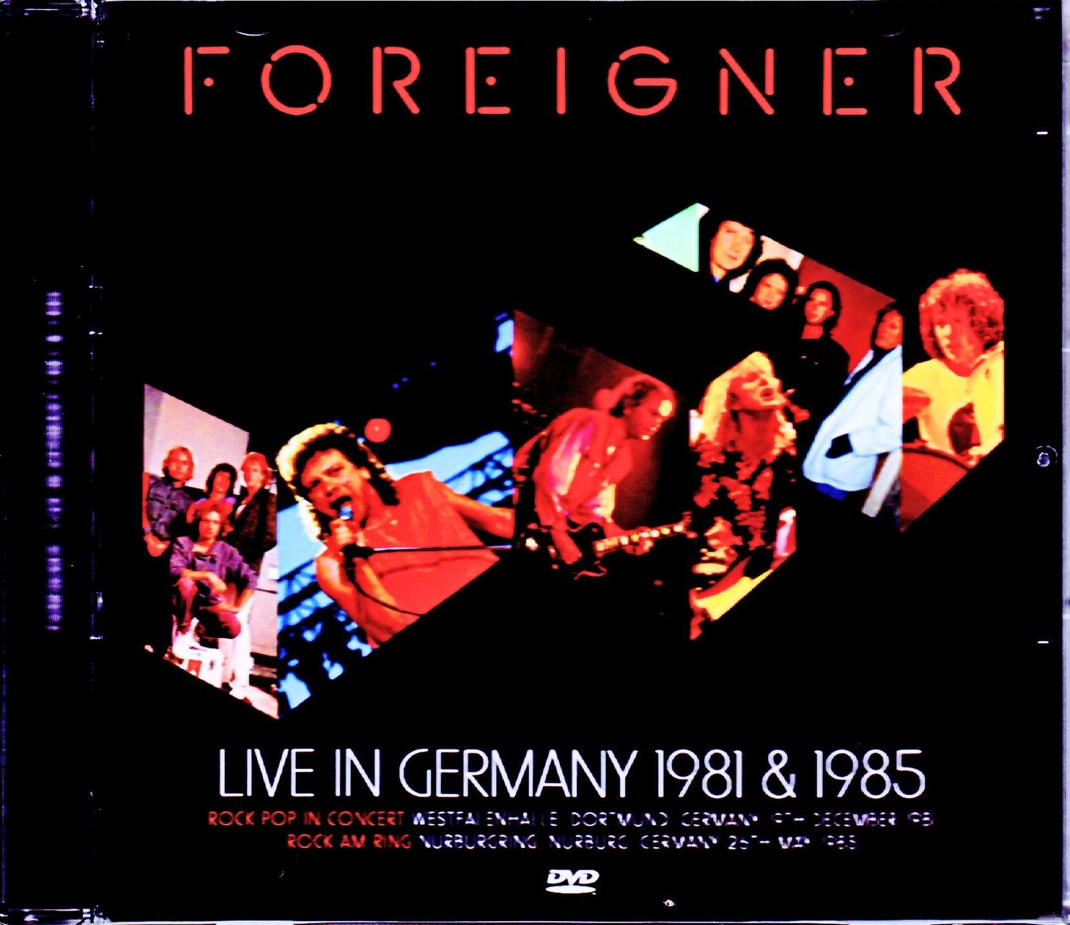 Foreigner フォリナー/Germany 1981 & 1985 Japanese Broadcast Version