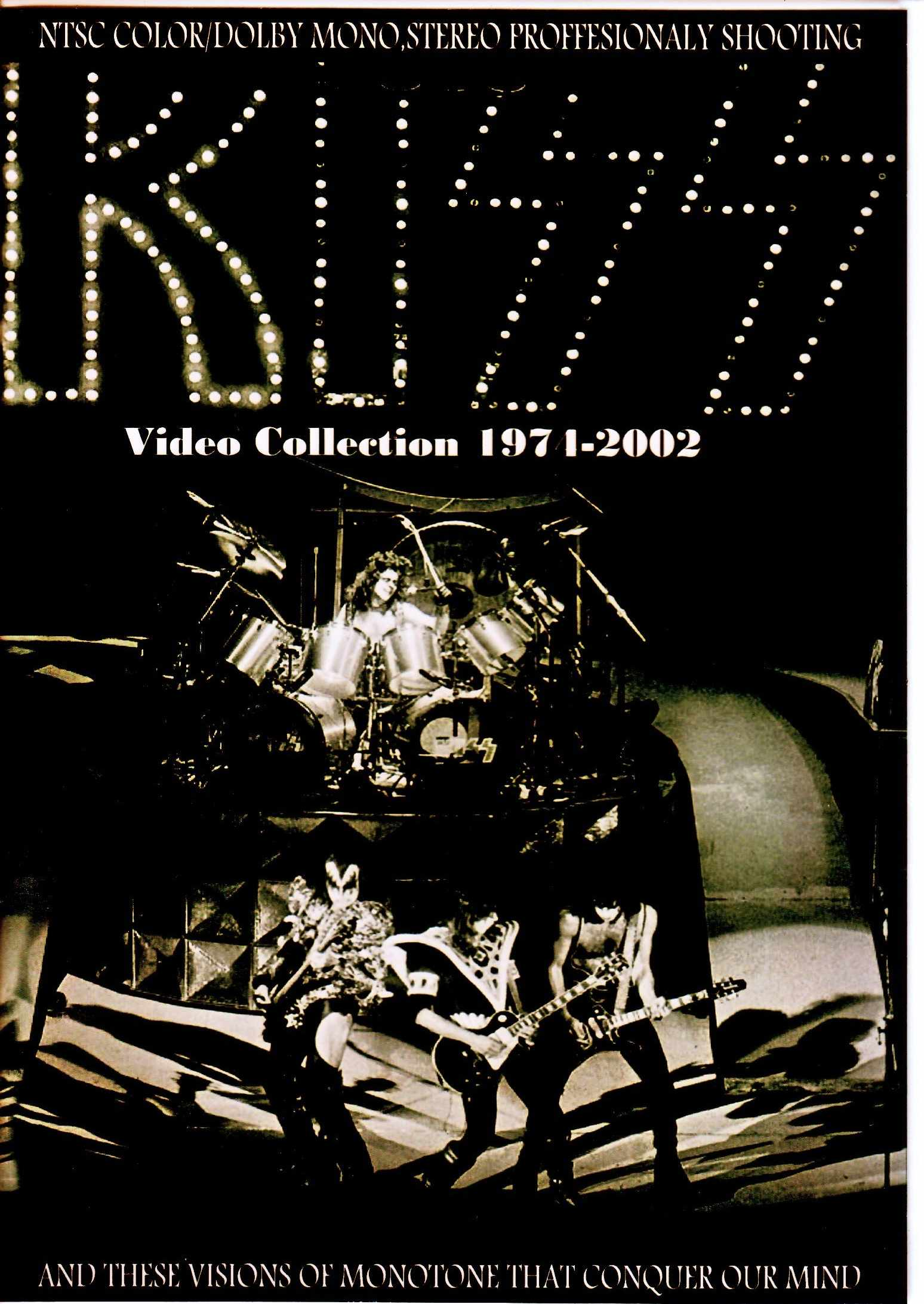 Kiss キッス/Video Collection 1974-2002
