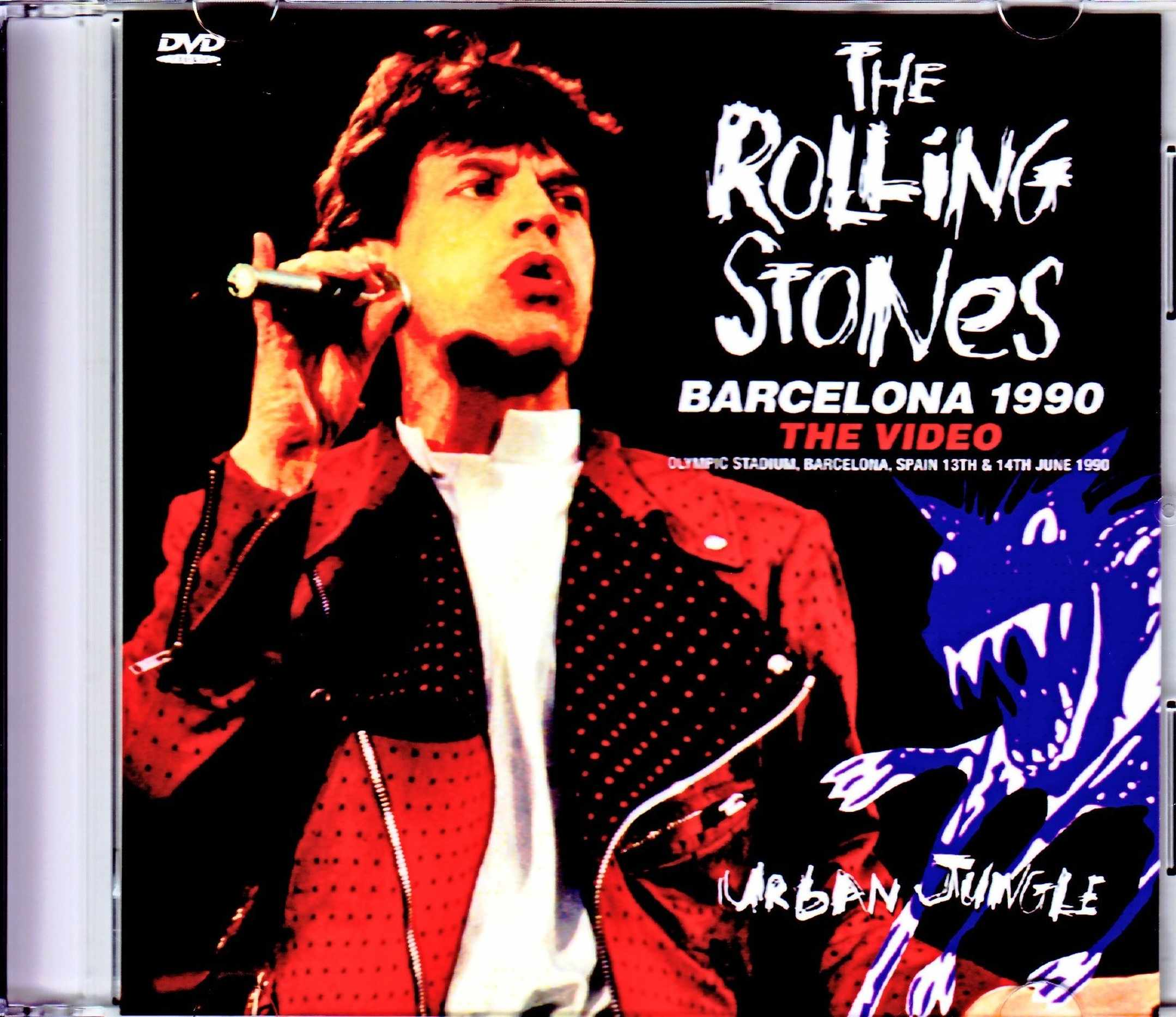 Rolling Stones ローリング・ストーンズ/Spain 1990 2Days Mix