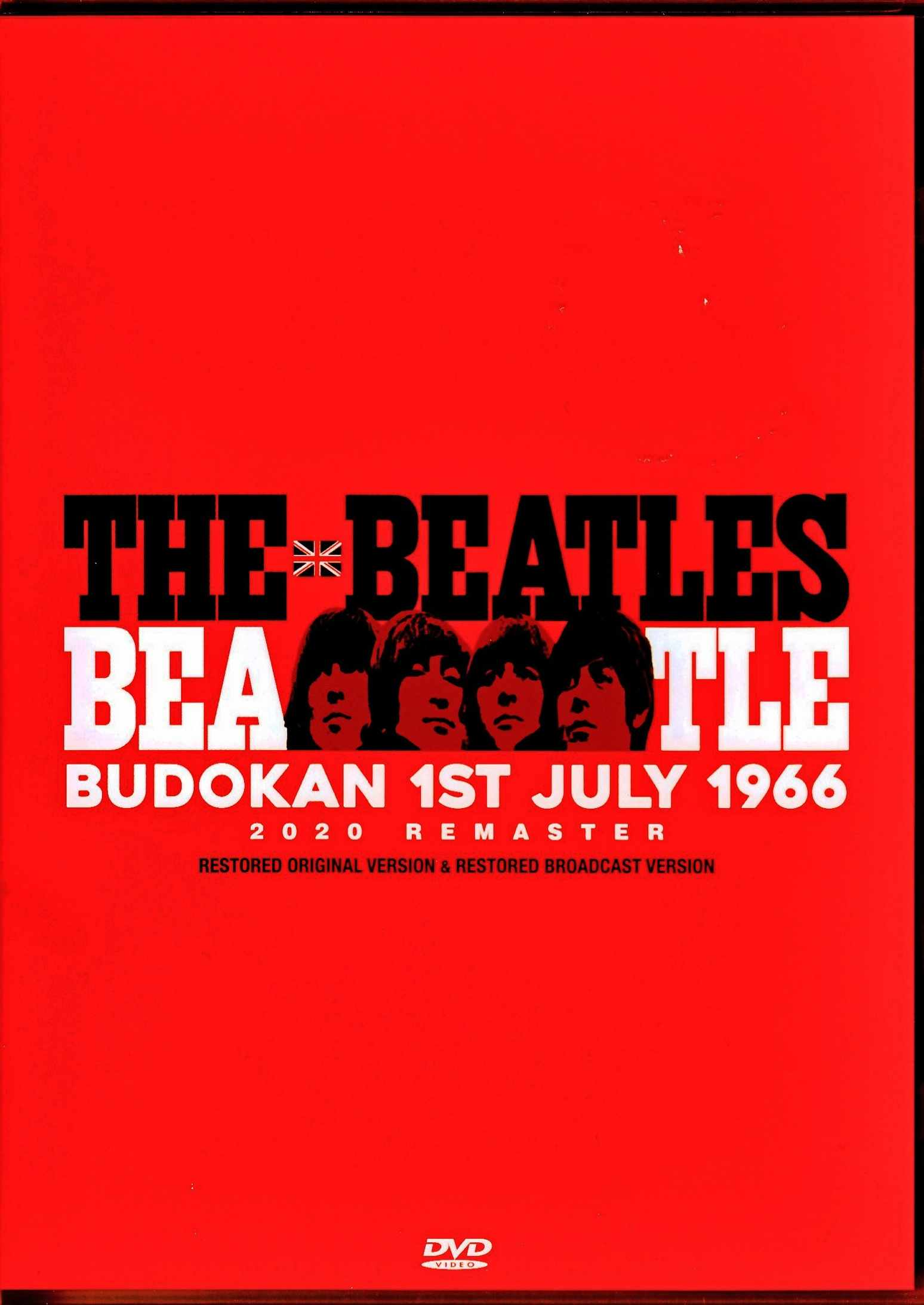 Beatles ビートルズ/Tokyo,Japan 7.1.1966 Afternoon Show Restored & more