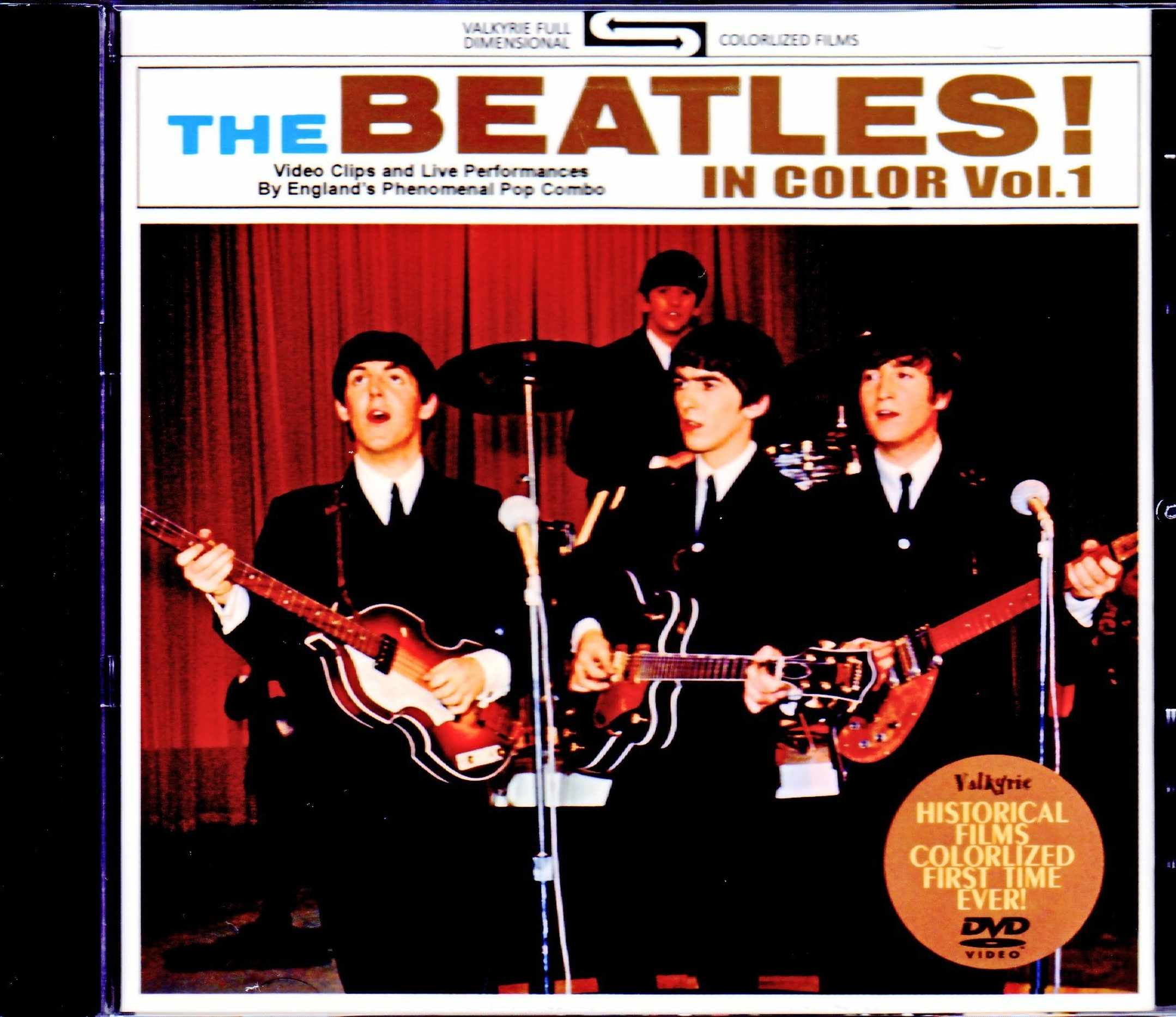 Beatles ビートルズ/Promo Clip & more Color Edition