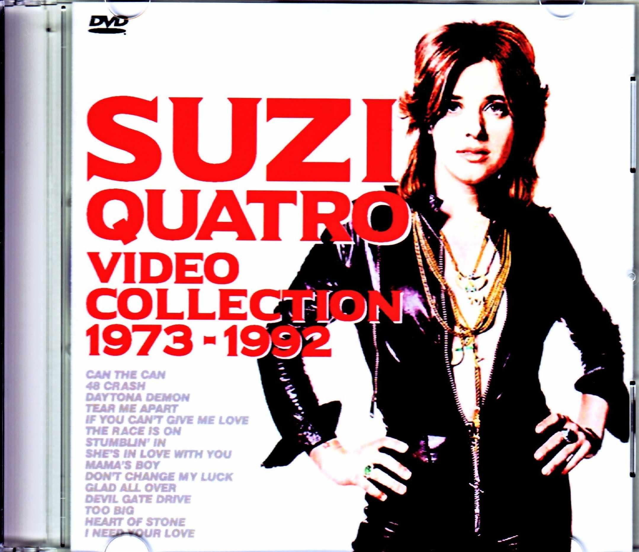 Suzi Quatro スージー・クワトロ/Video Collection 1973-1992