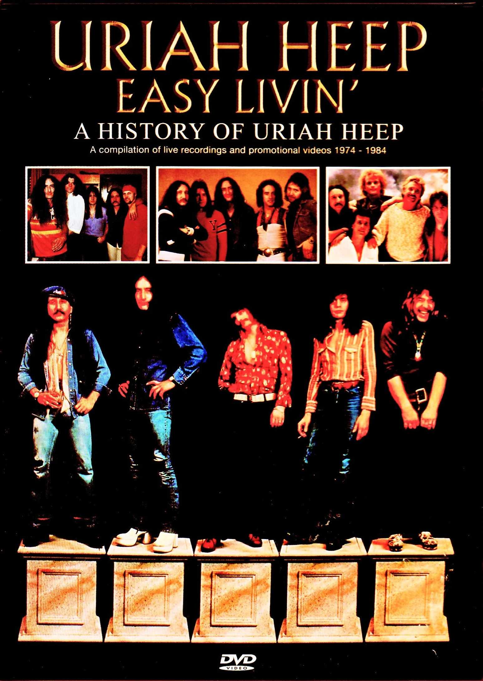 Uriah Heep ユーライア・ヒープ/ユーライア・ヒープの歴史 A History of Uriah Heep Japanese LD Edition
