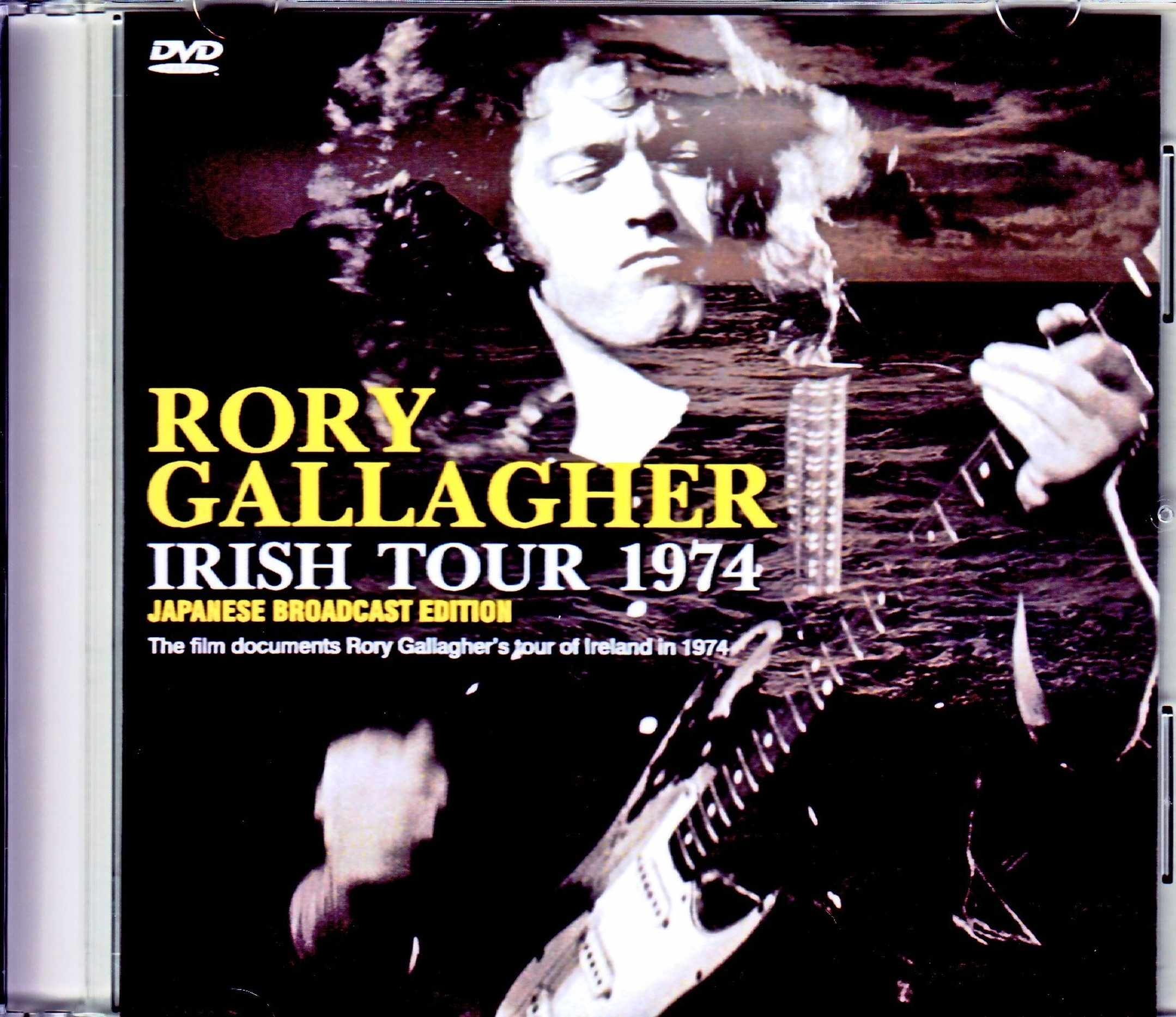 Rory Gallagher ロリー・ギャラガー/The Film Documents Tour of Ireland in 1974 Japanese Broadcast Edition