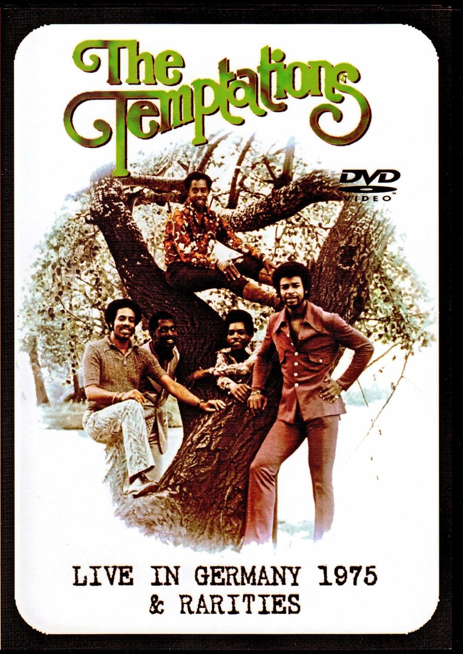 Temptations テンプテーションズ/Germany 1975 & more