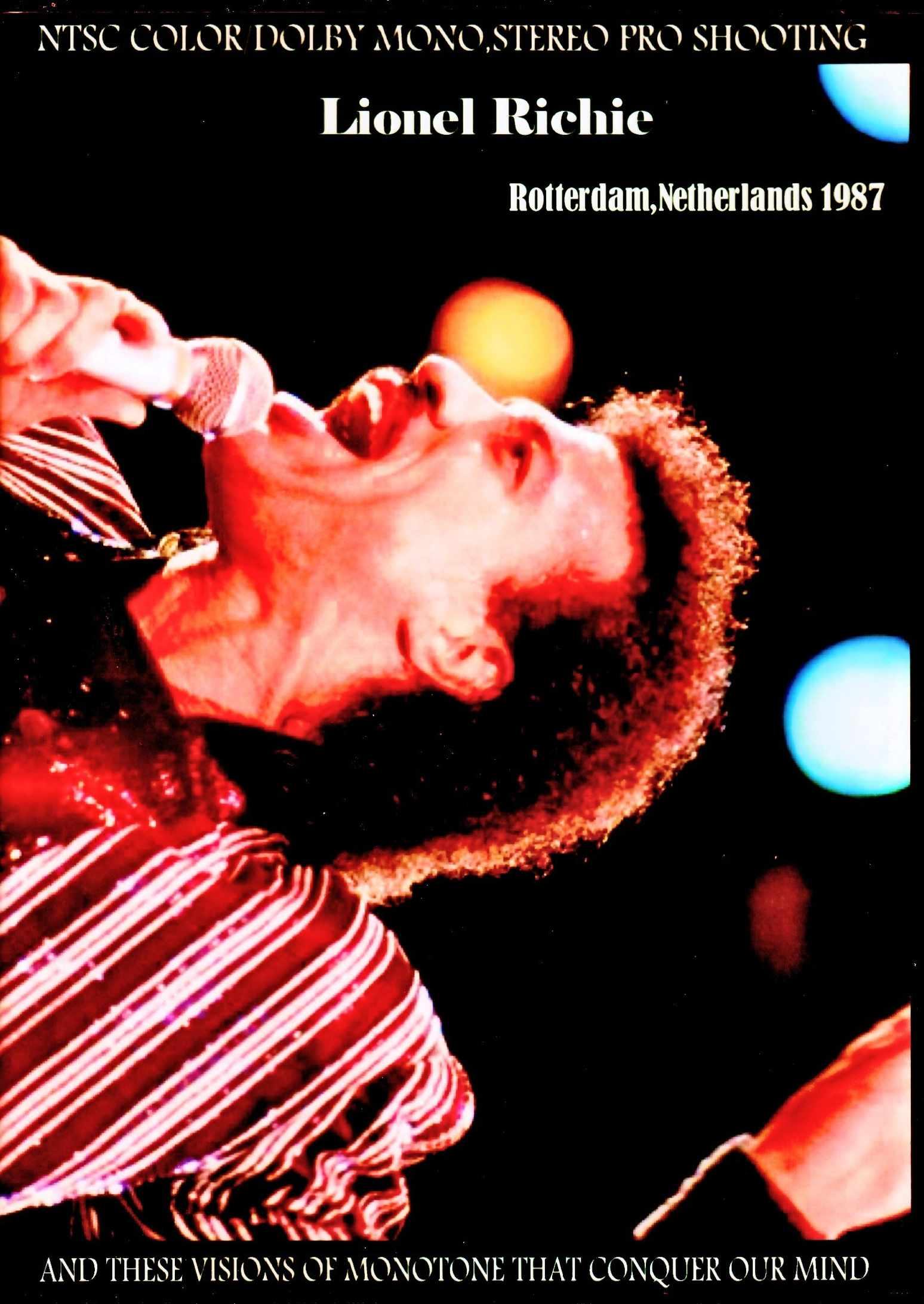Lionel Richie ライオネル・リッチー/Netherlands 1987