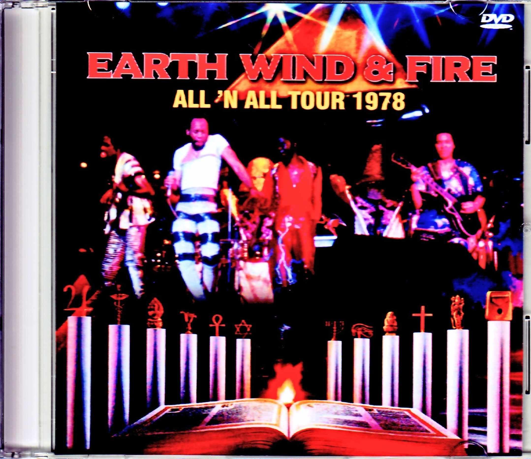 EW & F Earth Wind & Fire アース・ウィンド・アンド・ファイヤー/太陽神 ツアー 1978年 All 'N All Tour 1978