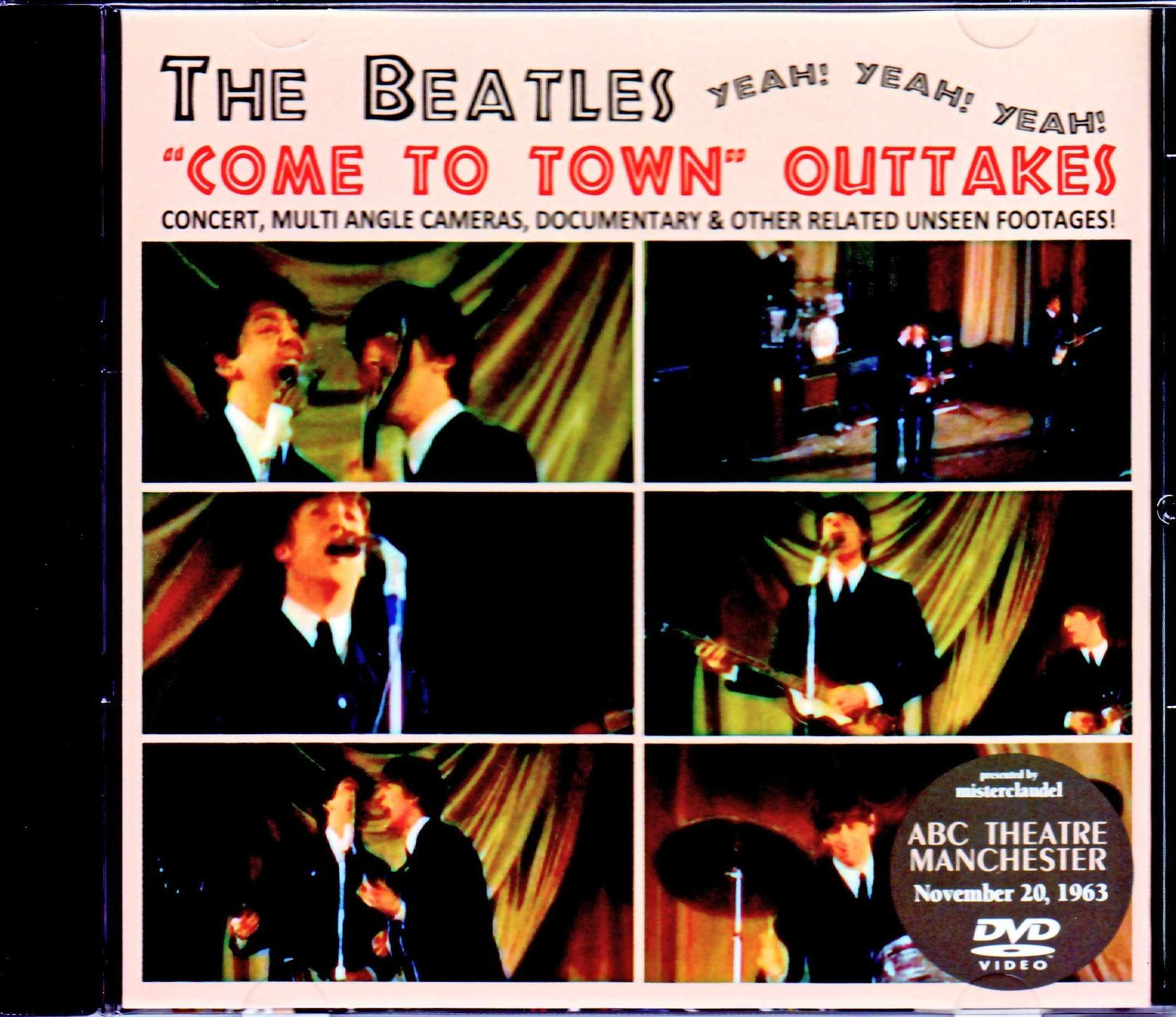 Beatles ビートルズ/UK 1963 Multi Angle Cameras,Documentary & Other