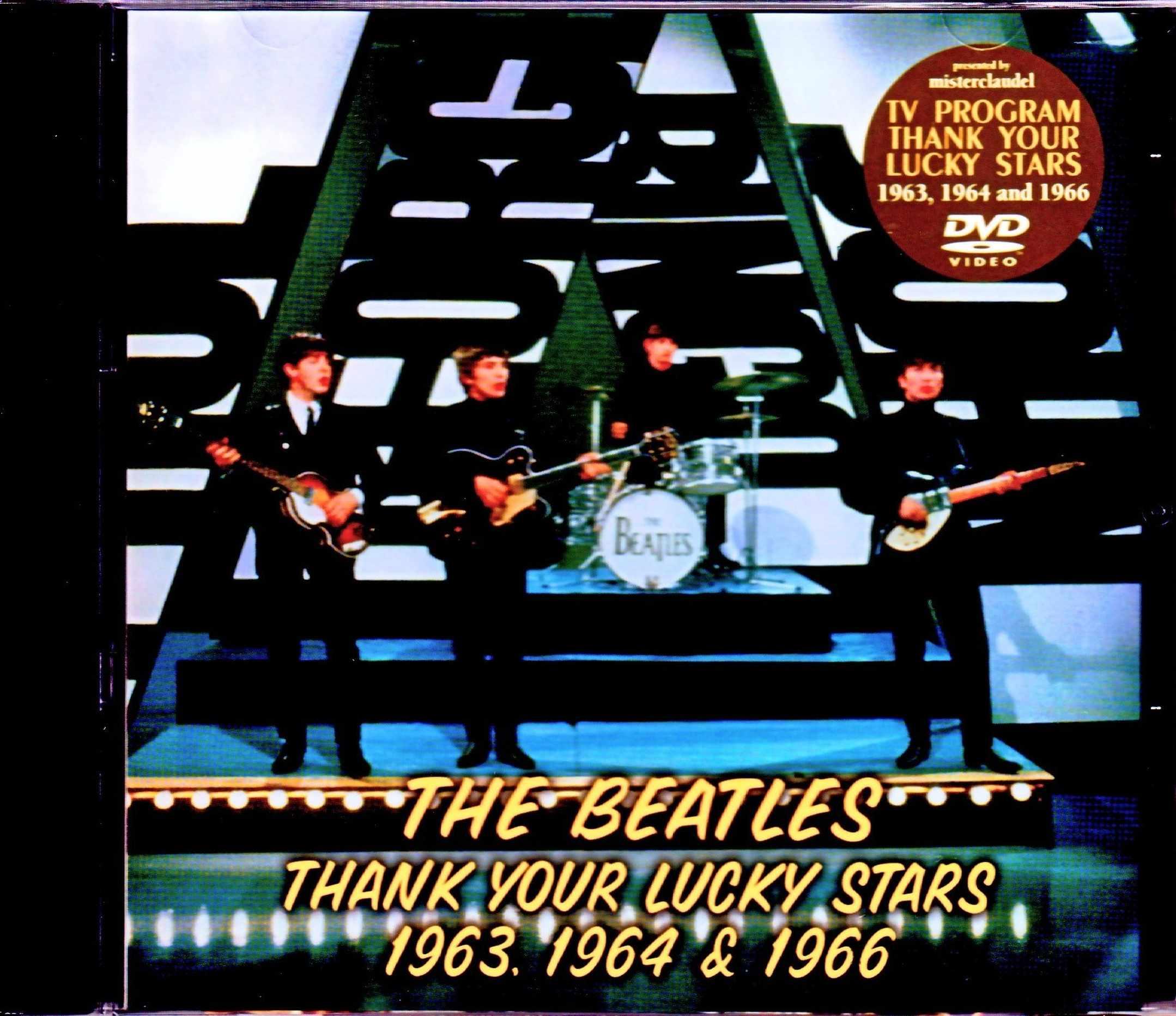 Beatles ビートルズ/TV Program Thank Your Lucky Stars 1963,1964 & 1966