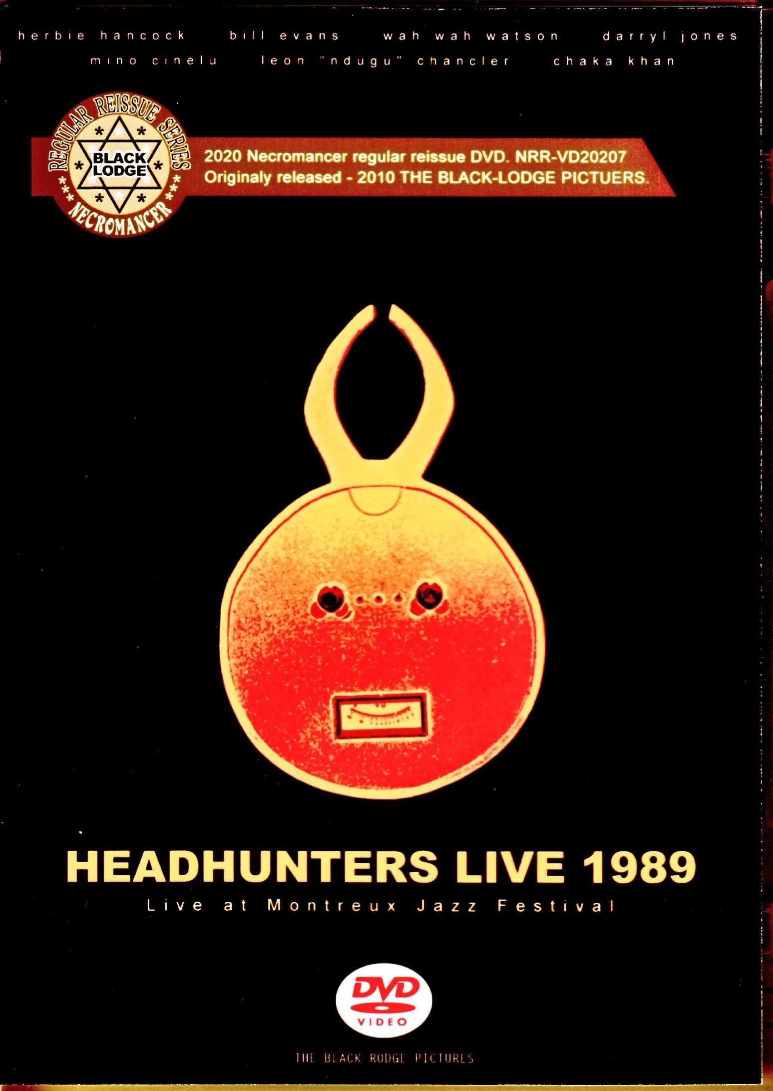 Headhunters Herbie Hancock,Bill Evans,Chaka Khan ヘッドハンターズ/Switzerland 1989