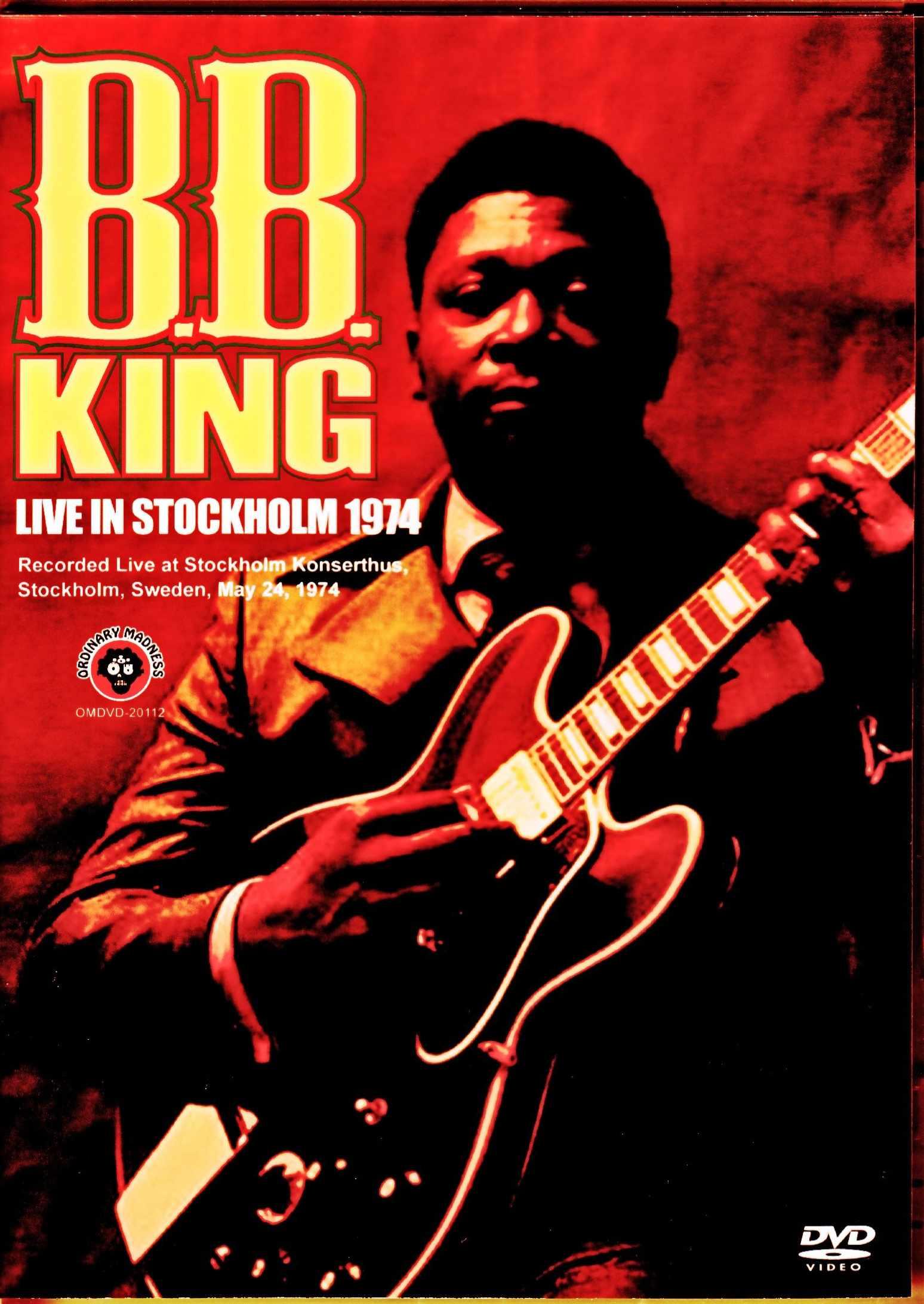B.B.King B.B.キング/Sweden 1974