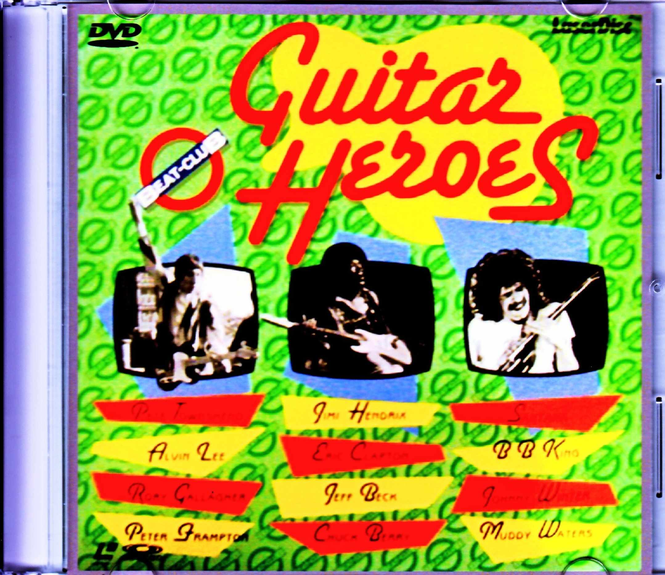 Various Artists Chuck Berry,Muddy Waters,Eric Clapton,Alvin Lee,Rory Gallagher/Beat Club Guitar Heroes Japanese Laser Disc Edition