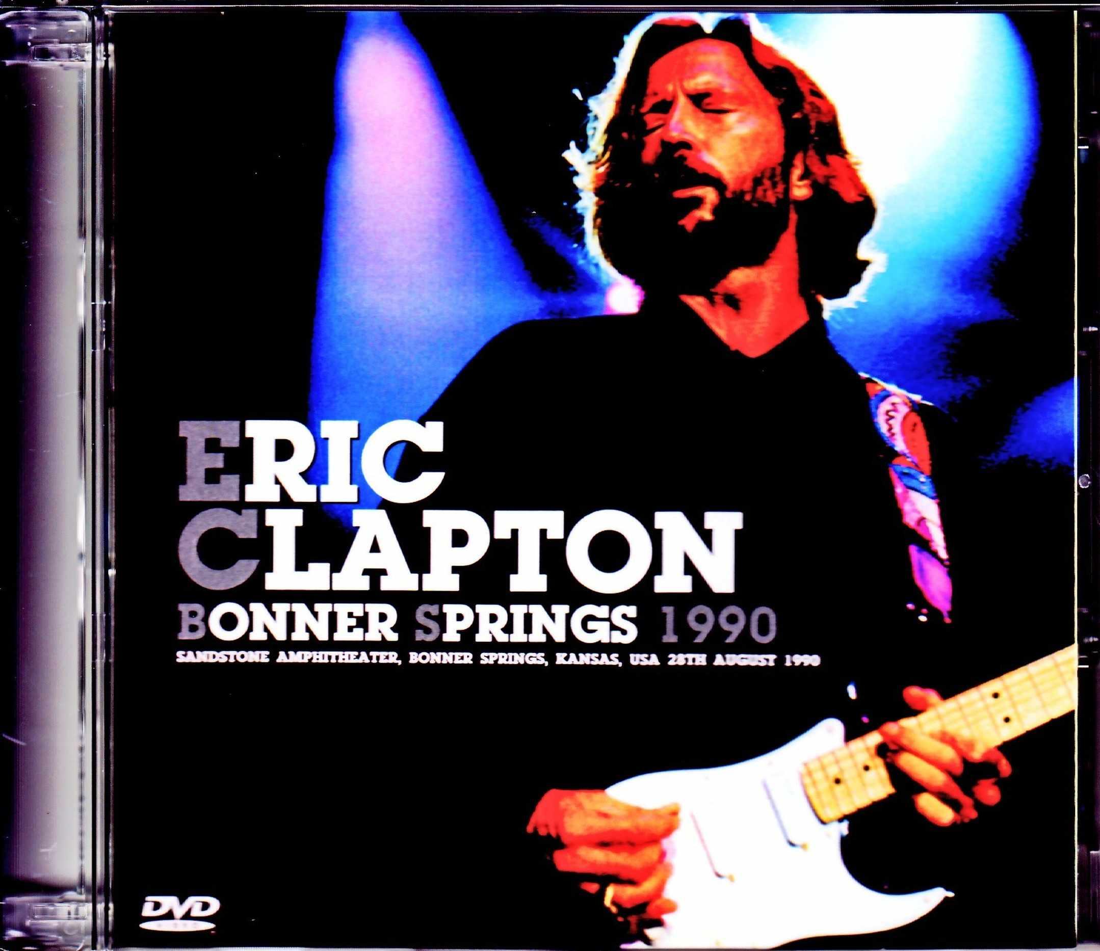 Eric Clapton エリック・クラプトン/KS,USA 1990 8mm Masters