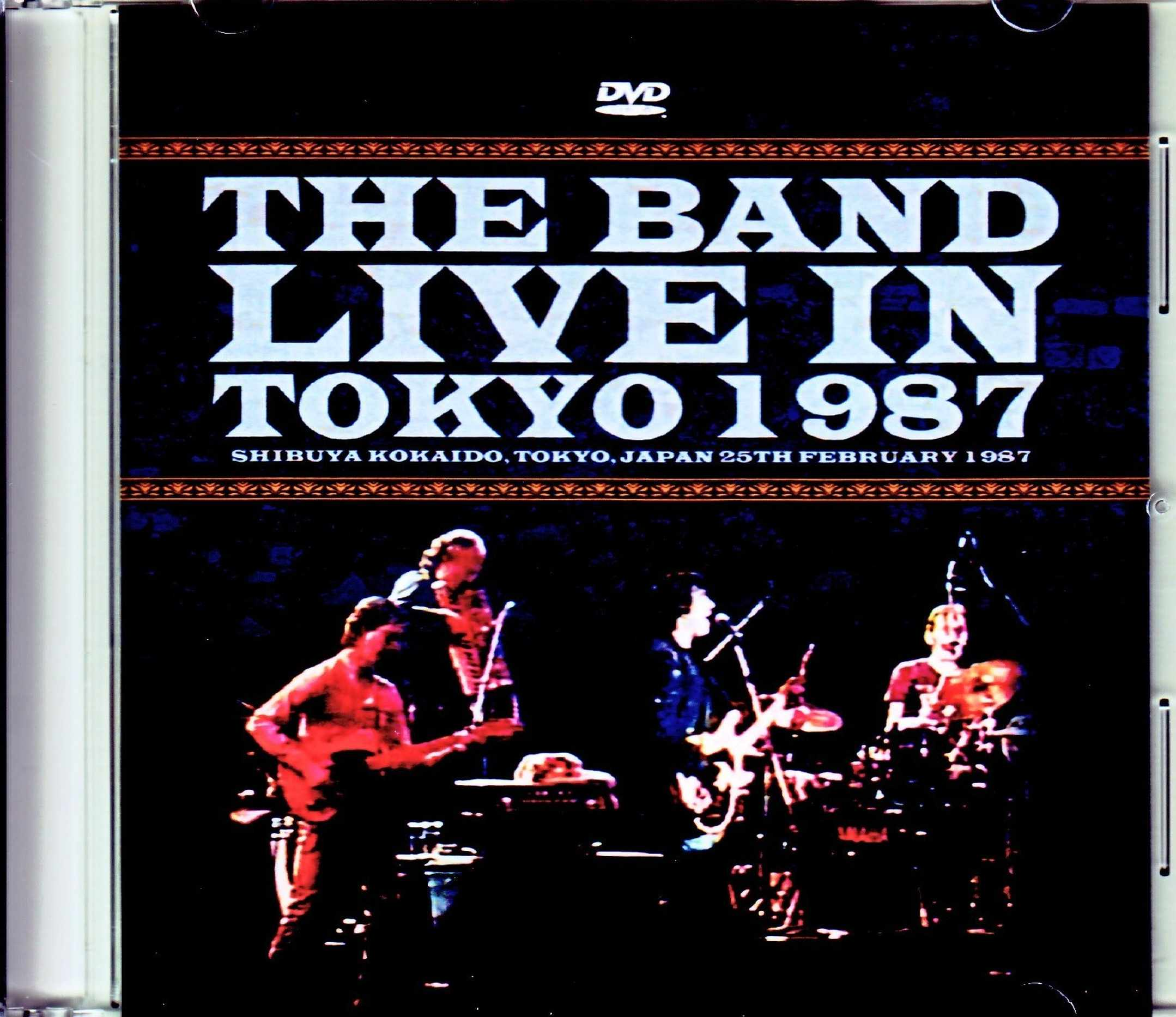 Band,The ザ・バンド/Tokyo,Japan 2.25.1987