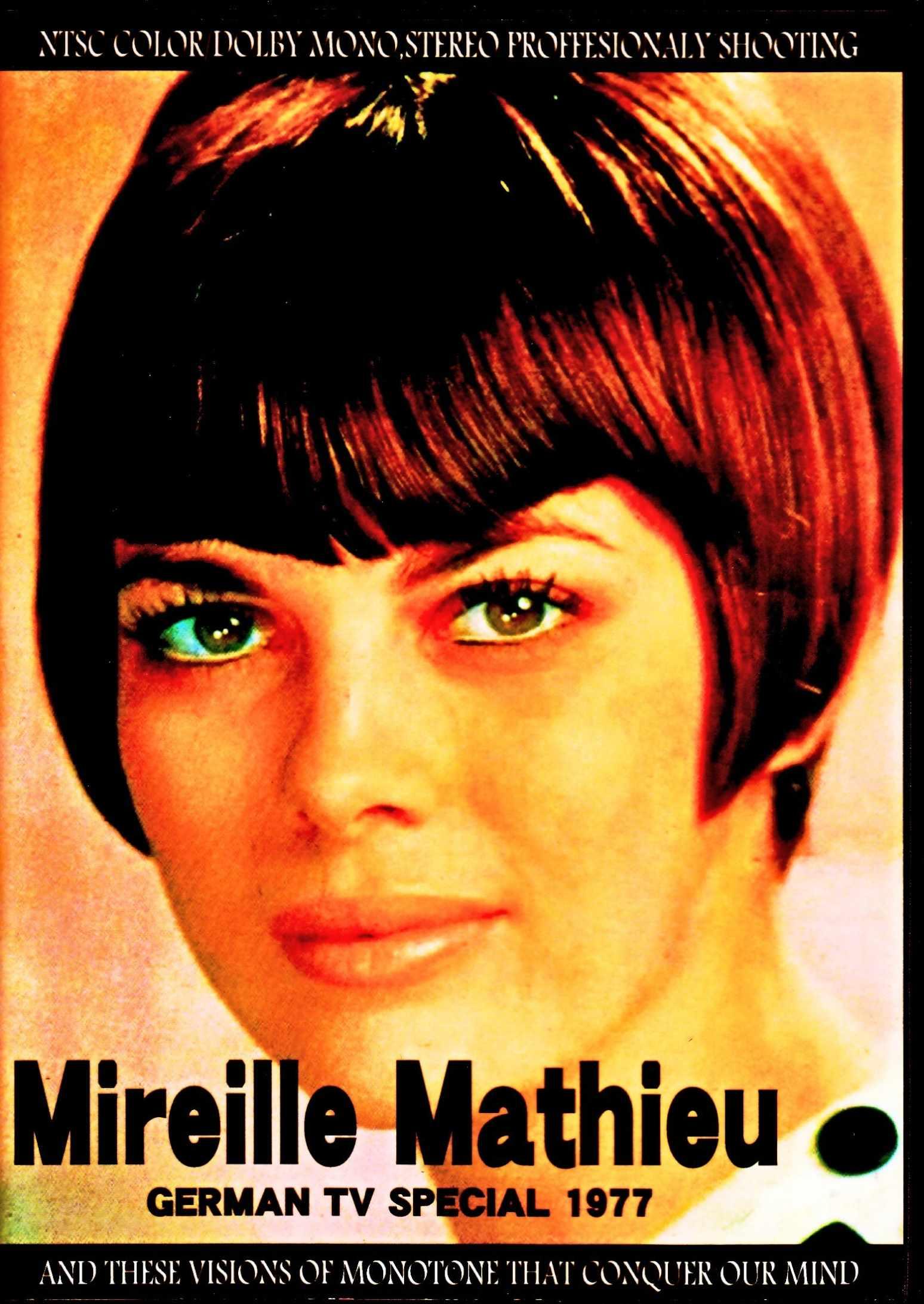 Mireille Mathieu ミレイユ・マチュー/ドイツのテレビ局プログラム・特別映像集 1977年