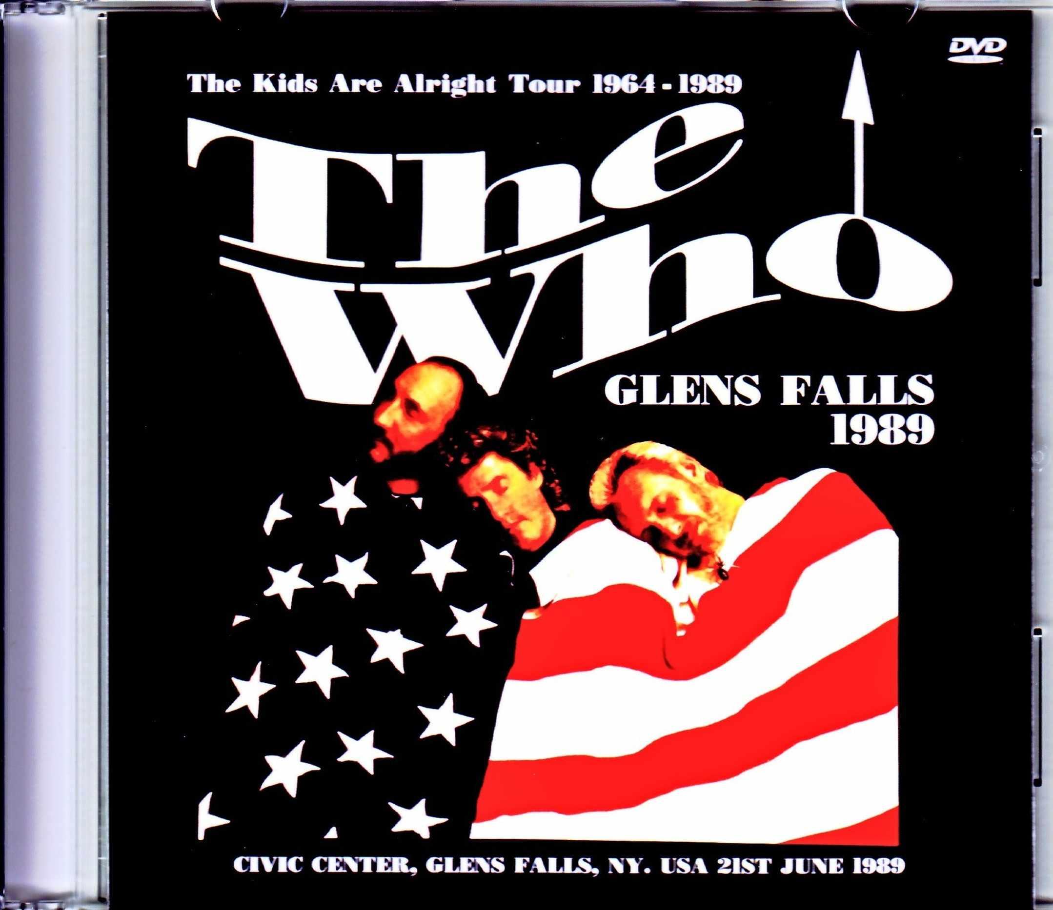 Who,The ザ・フー/NY,USA 1989