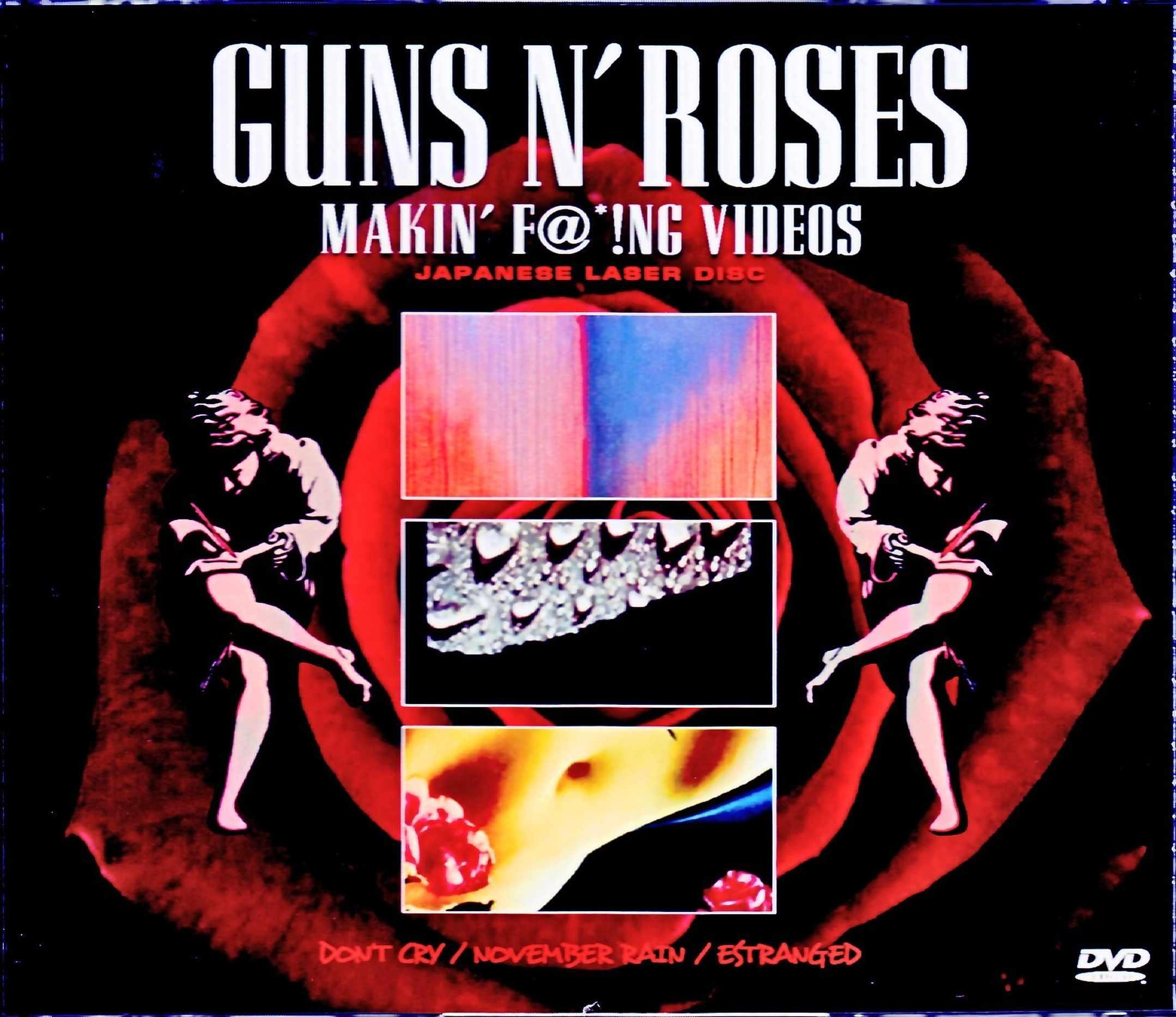 Guns N' Roses ガンズ・アンド・ローゼス/Makin' F@*!ng Videos Japanese Laser Disc Edition