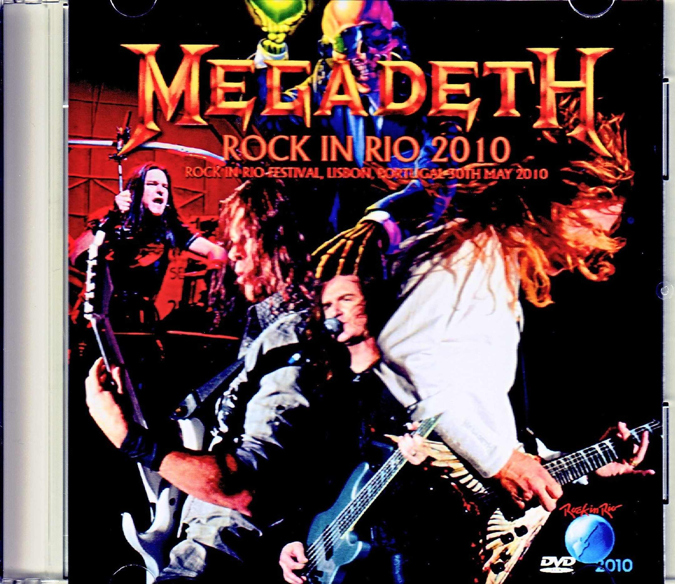 Megadeth メガデス/Portugal 2010