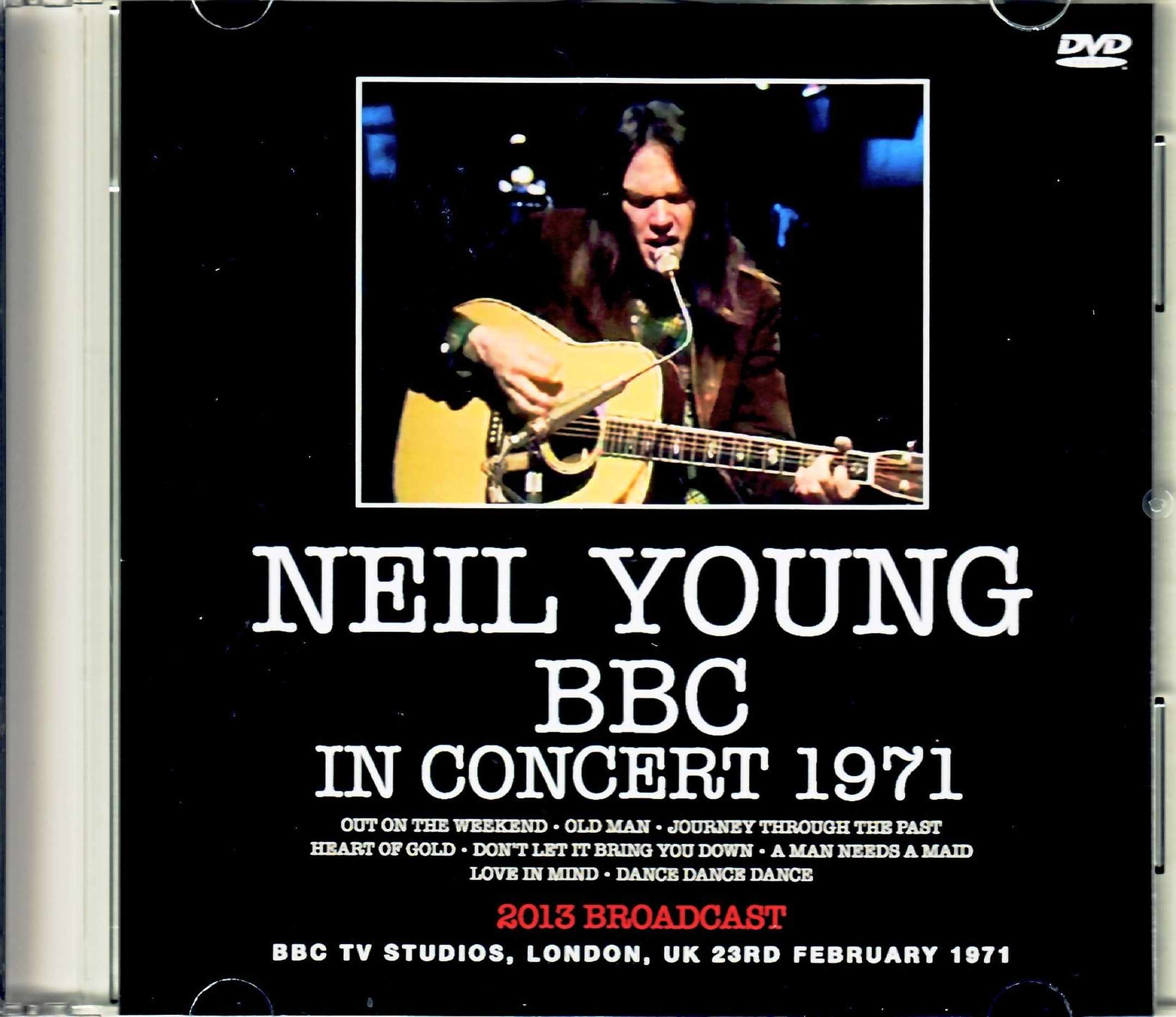 Neil Young ニール・ヤング/London,UK 1971 Upgrade
