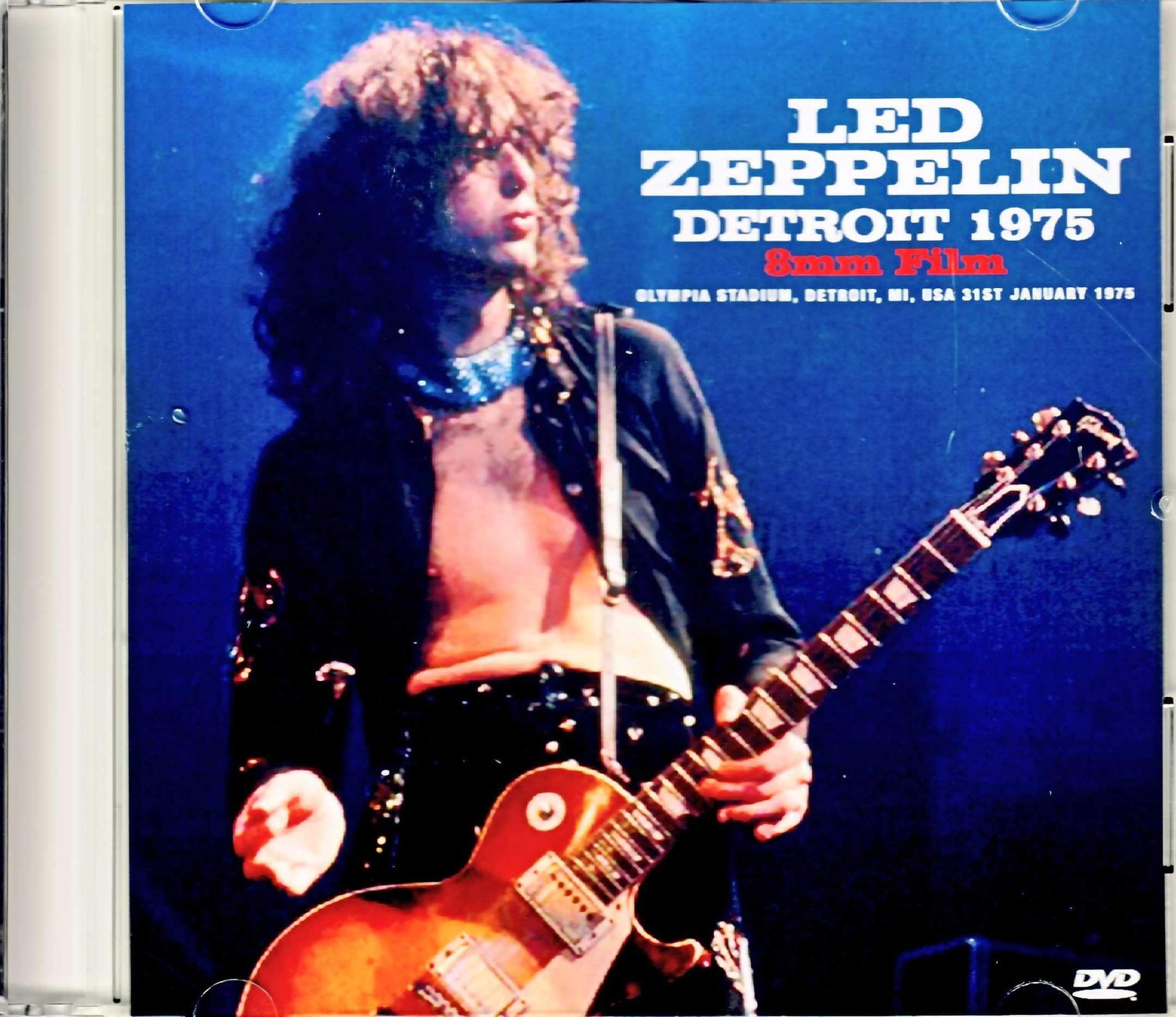 Led Zeppelin レッド・ツェッペリン/MI,USA 1975 8mm Film