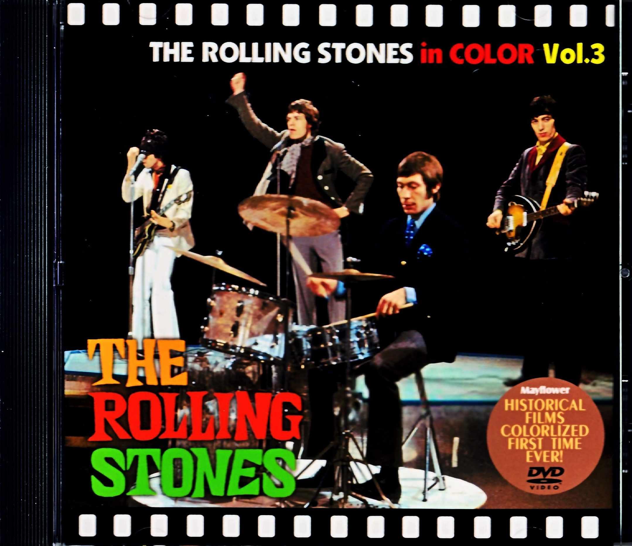 Rolling Stones ローリング・ストーンズ/Historical Films 1964-1965 Vol.3 カラー版・第三弾