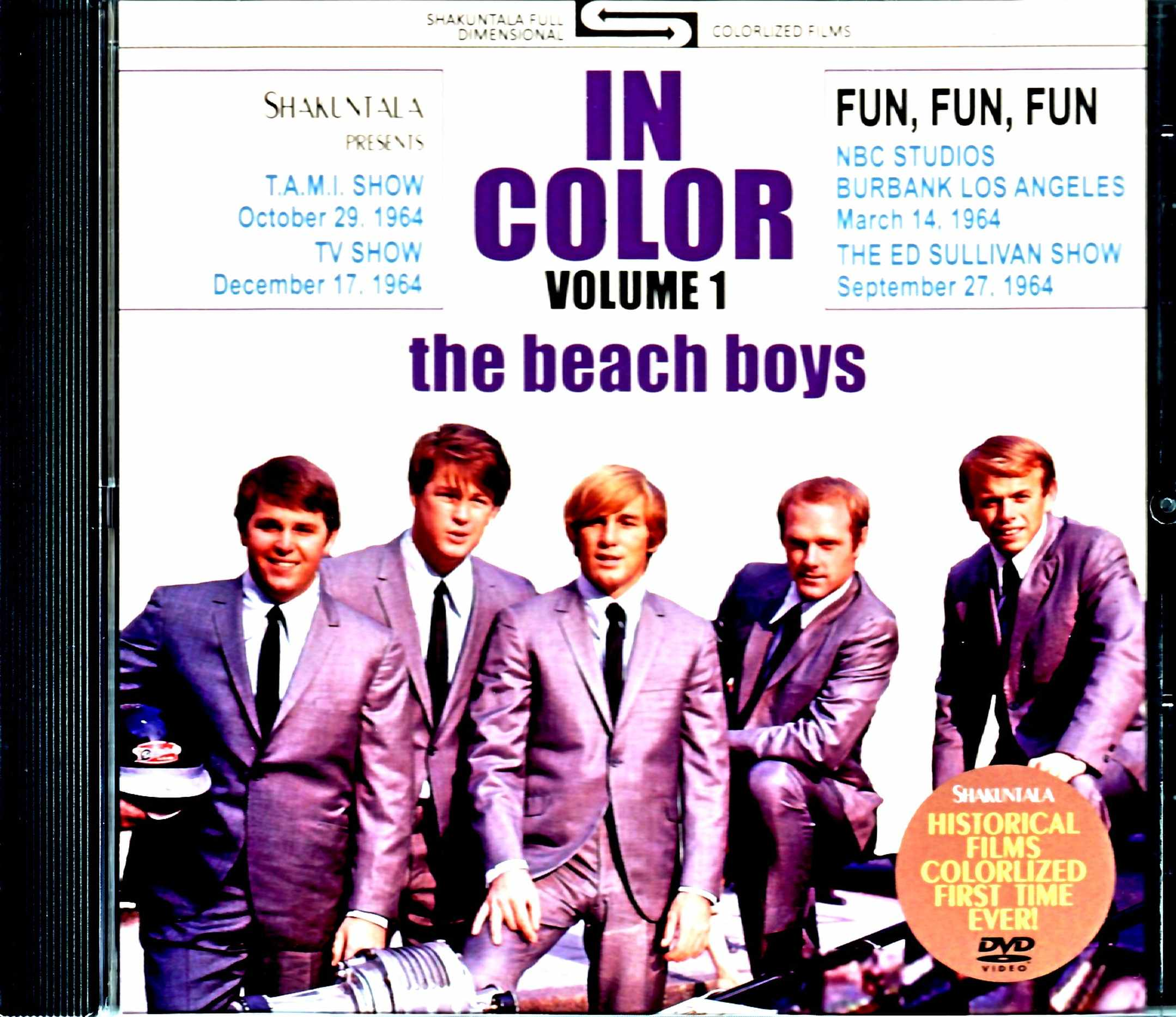 Beach Boys ビーチ・ボーイズ/1964年ライブ・カラー版 Live in Color 1964