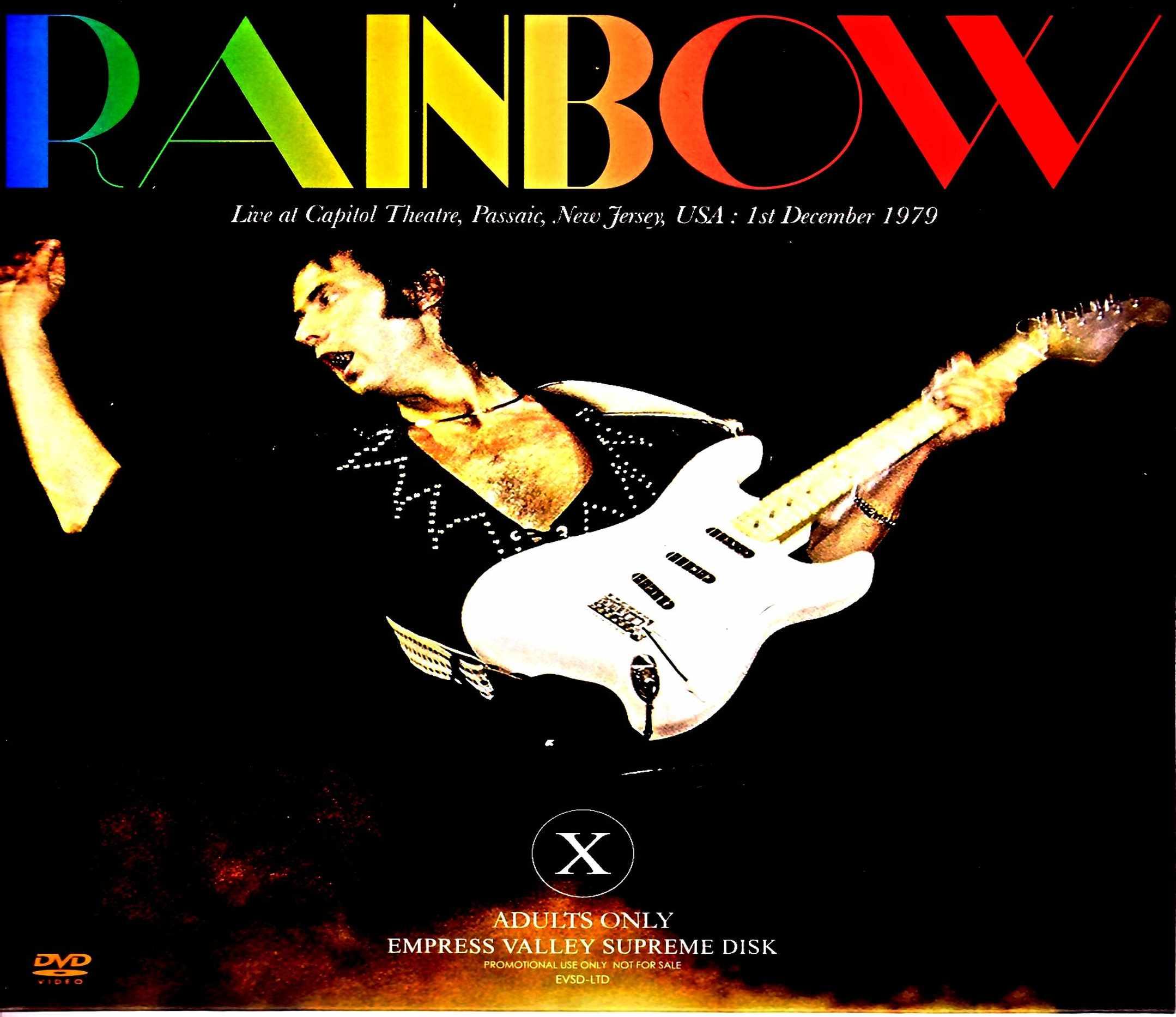 Rainbow レインボー/パセーイク公演 カラー版 NJ,USA 1979 Color Version