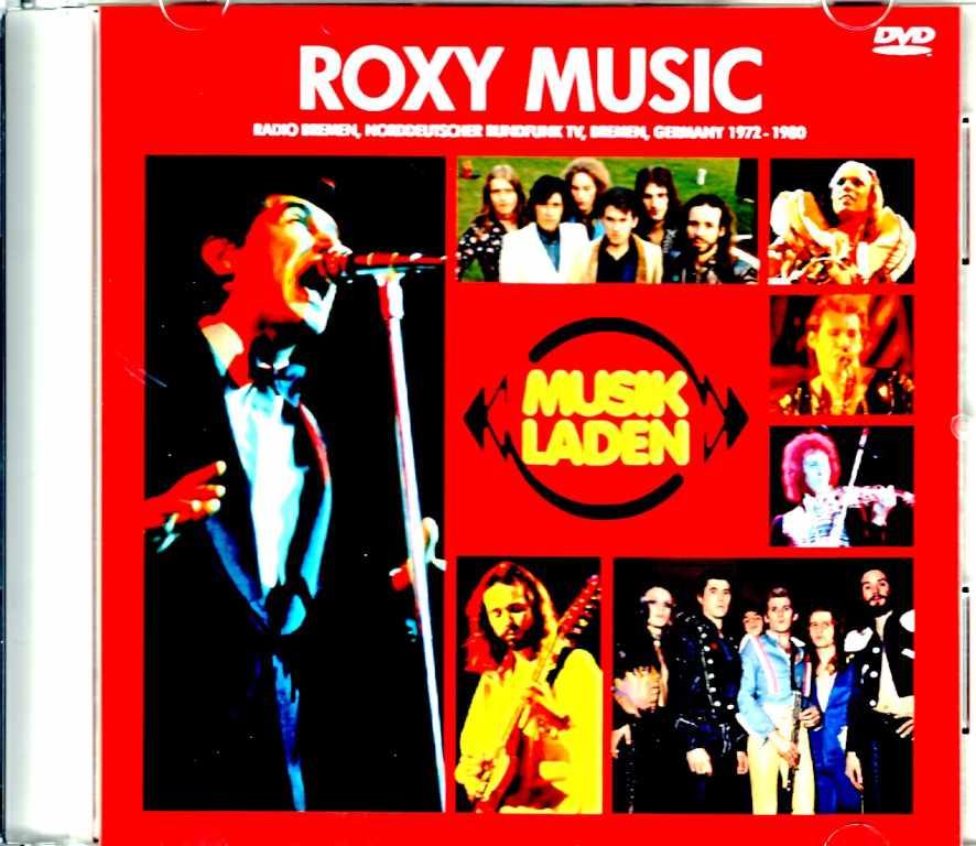 Roxy Music ロキシー・ミュージック/Musik Laden German TV 1972-1980