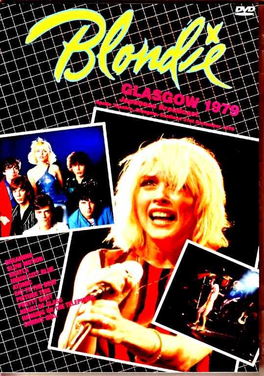Blondie ブロンディ/Scotland,UK 1979