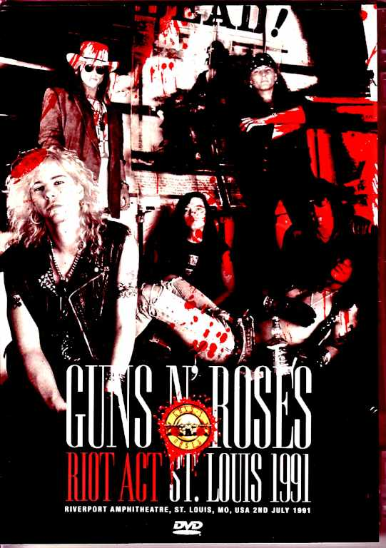 Guns N' Roses ガンズ・アンド・ローゼス/リバーポートの暴動 MO,USA 1991
