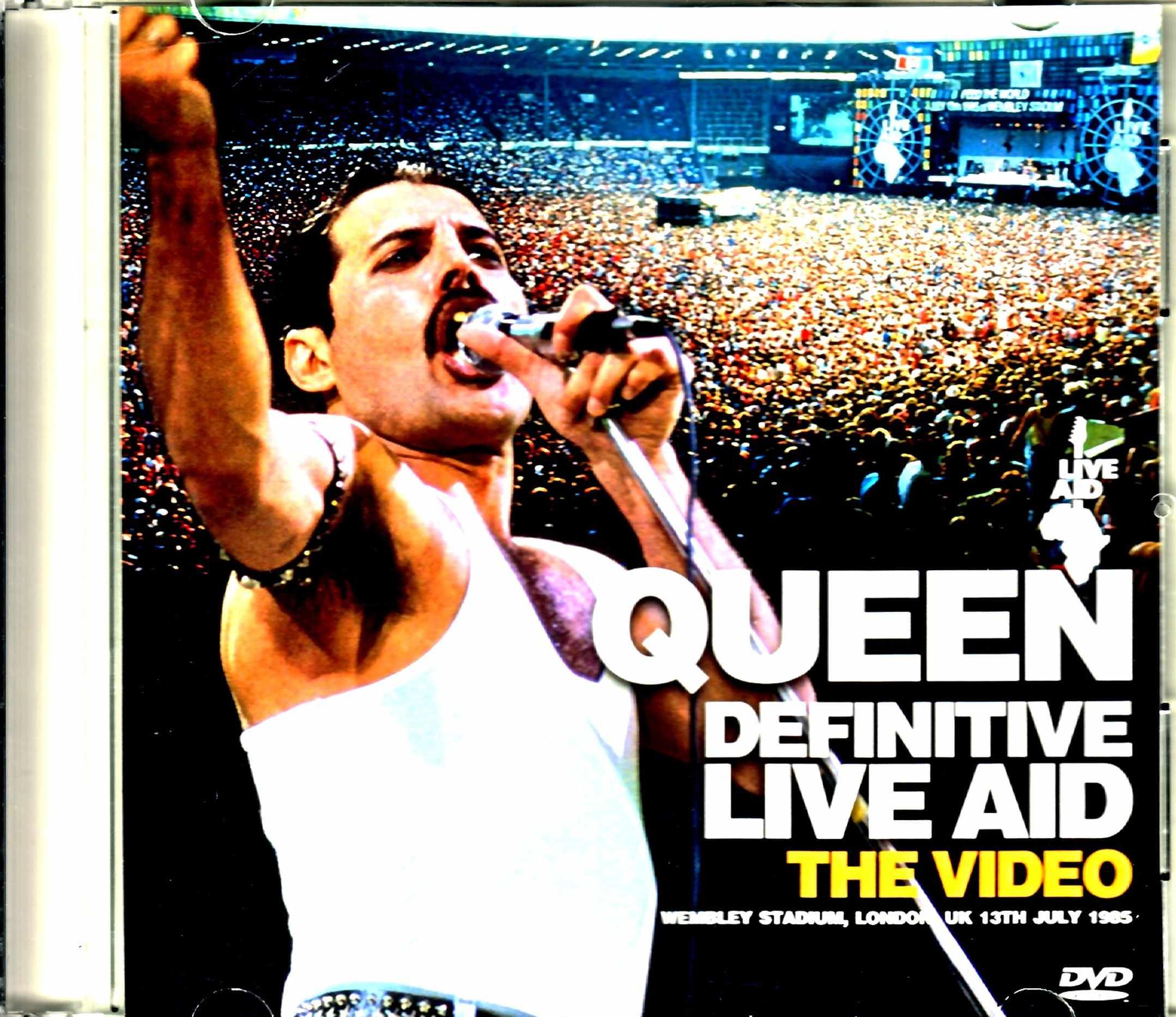Queen クィーン/ライヴ・エイド London,UK 1985 Stereo FM & Audience Recordings Matrix