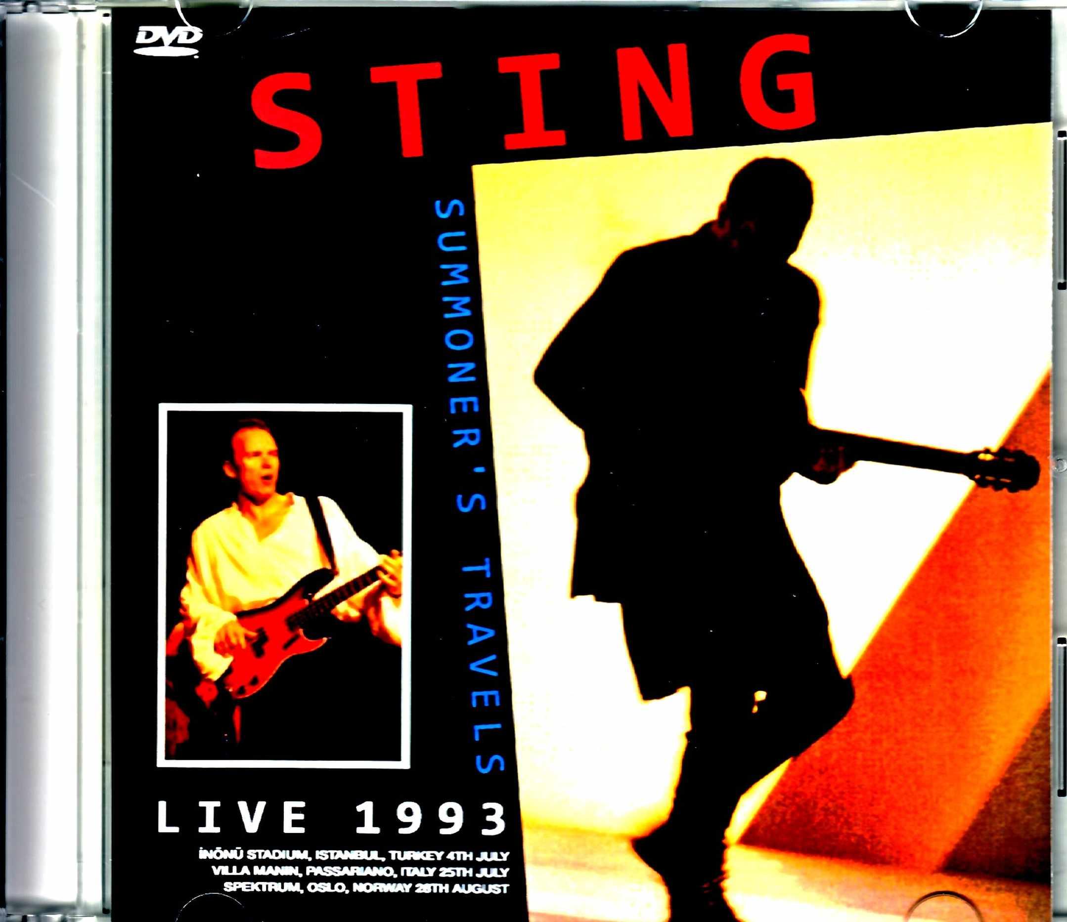 Stings スティング/Norway 1993 Japanese Digital Edition