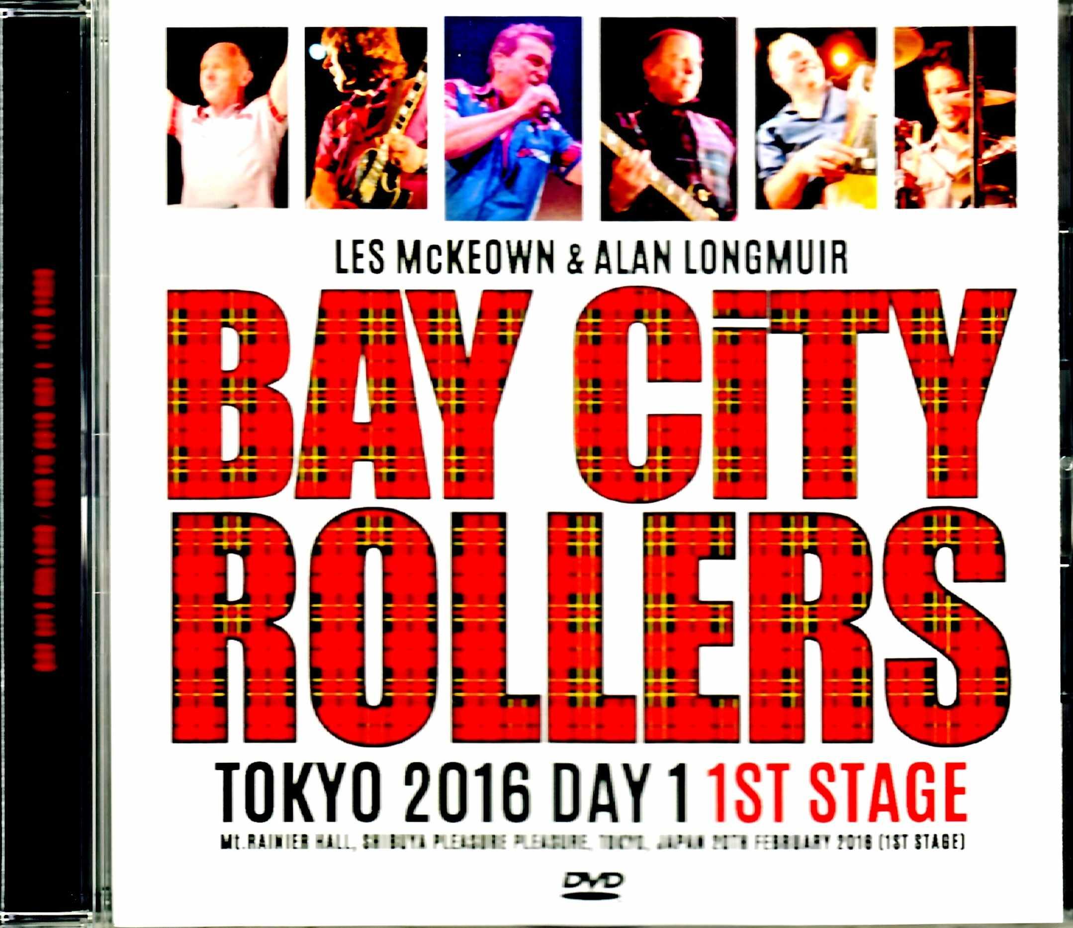 Bay City Rollers ベイ・シティ・ローラーズ/Tokyo,Japan 2.20.2016