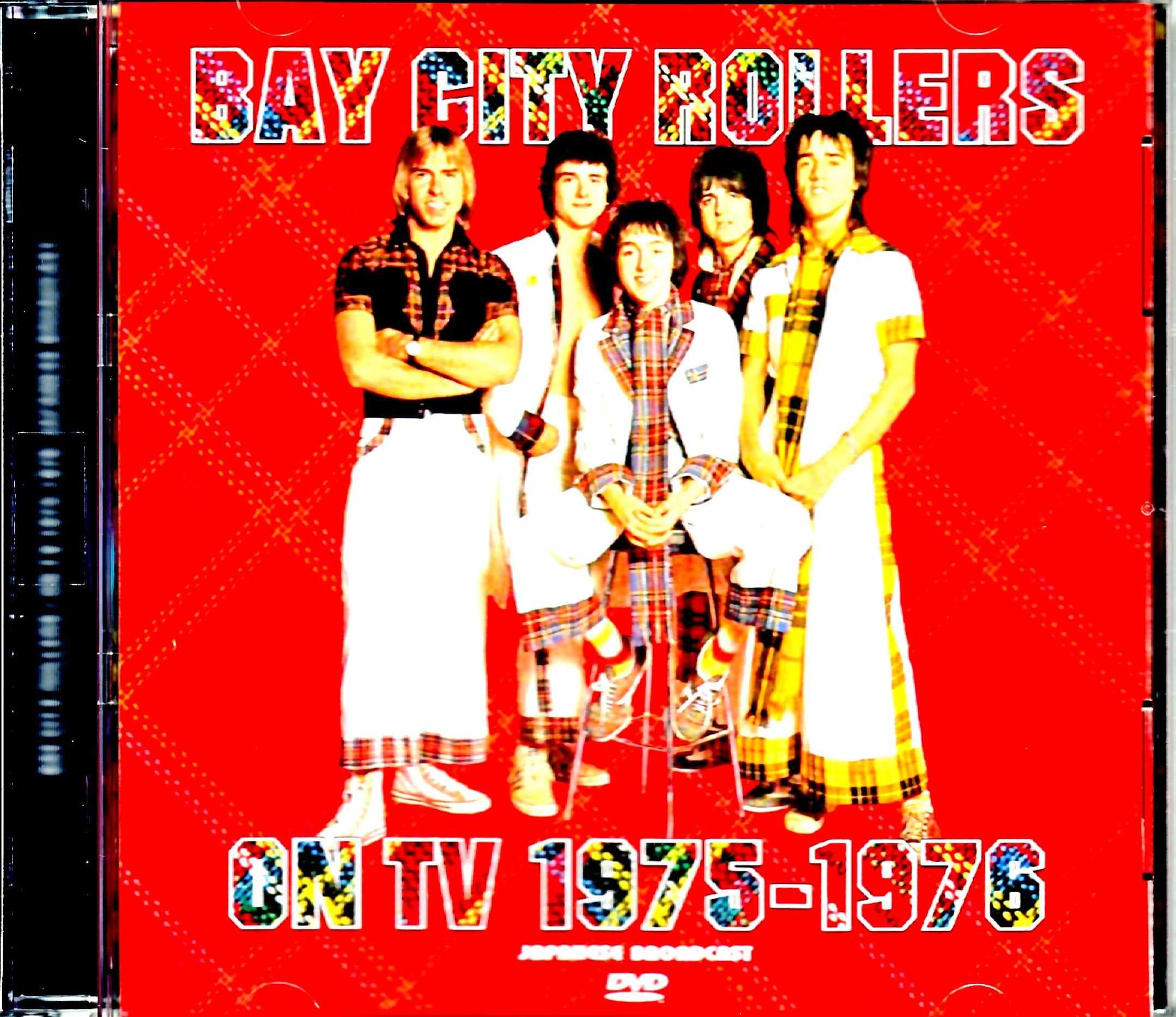 Bay City Rollers ベイ・シティ・ローラーズ/On TV 1975-1976 Japanese Broadcast Edition