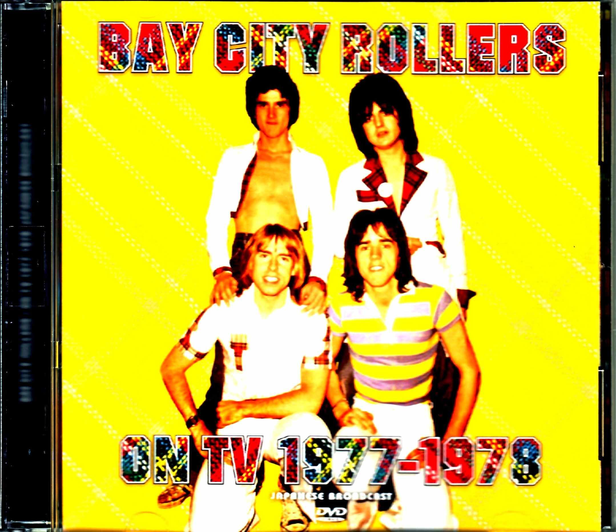 Bay City Rollers ベイ・シティ・ローラーズ/On TV 1977-1978 Japanese Broadcast Edition