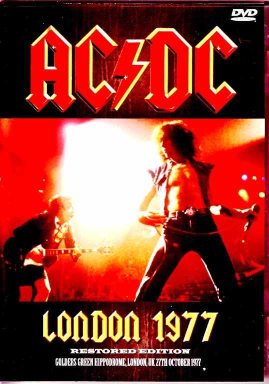 AC/DC エーシーディーシー/London,UK 1977 Upgrade