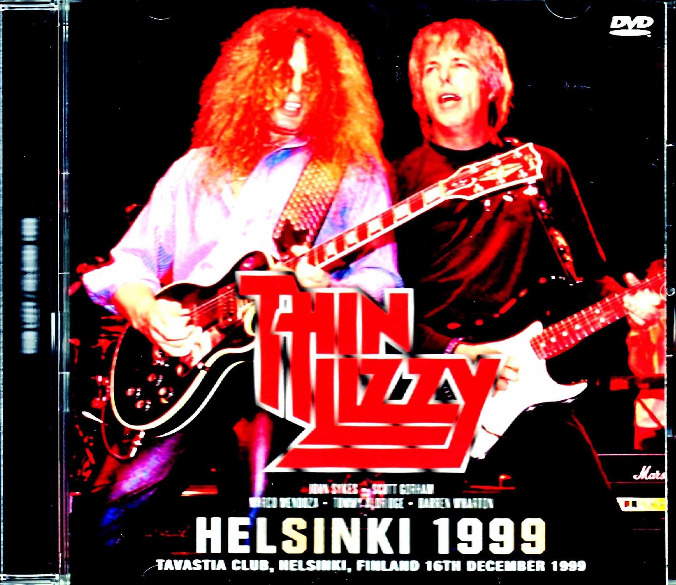 John Sykes Thin Lizzy シン・リジィ/Finland 1999