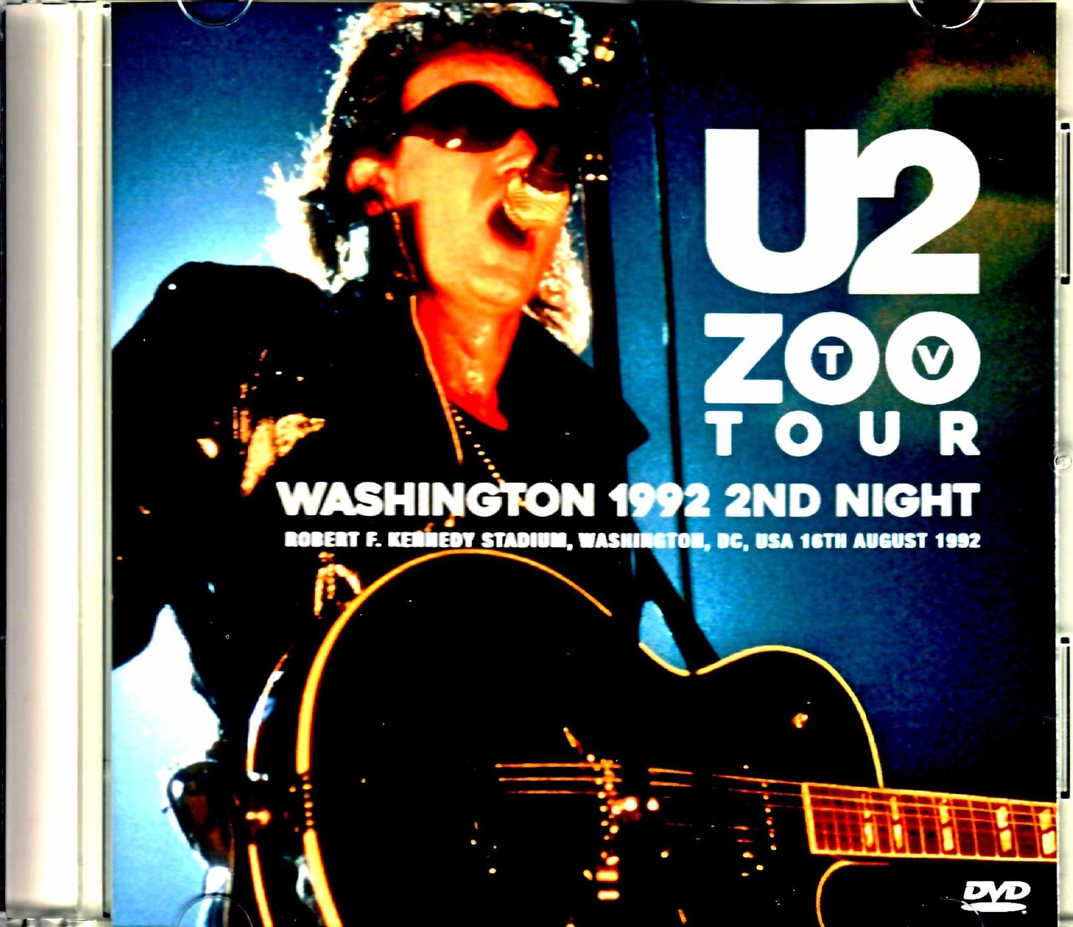 U2 ユーツー/WA,USA 1992