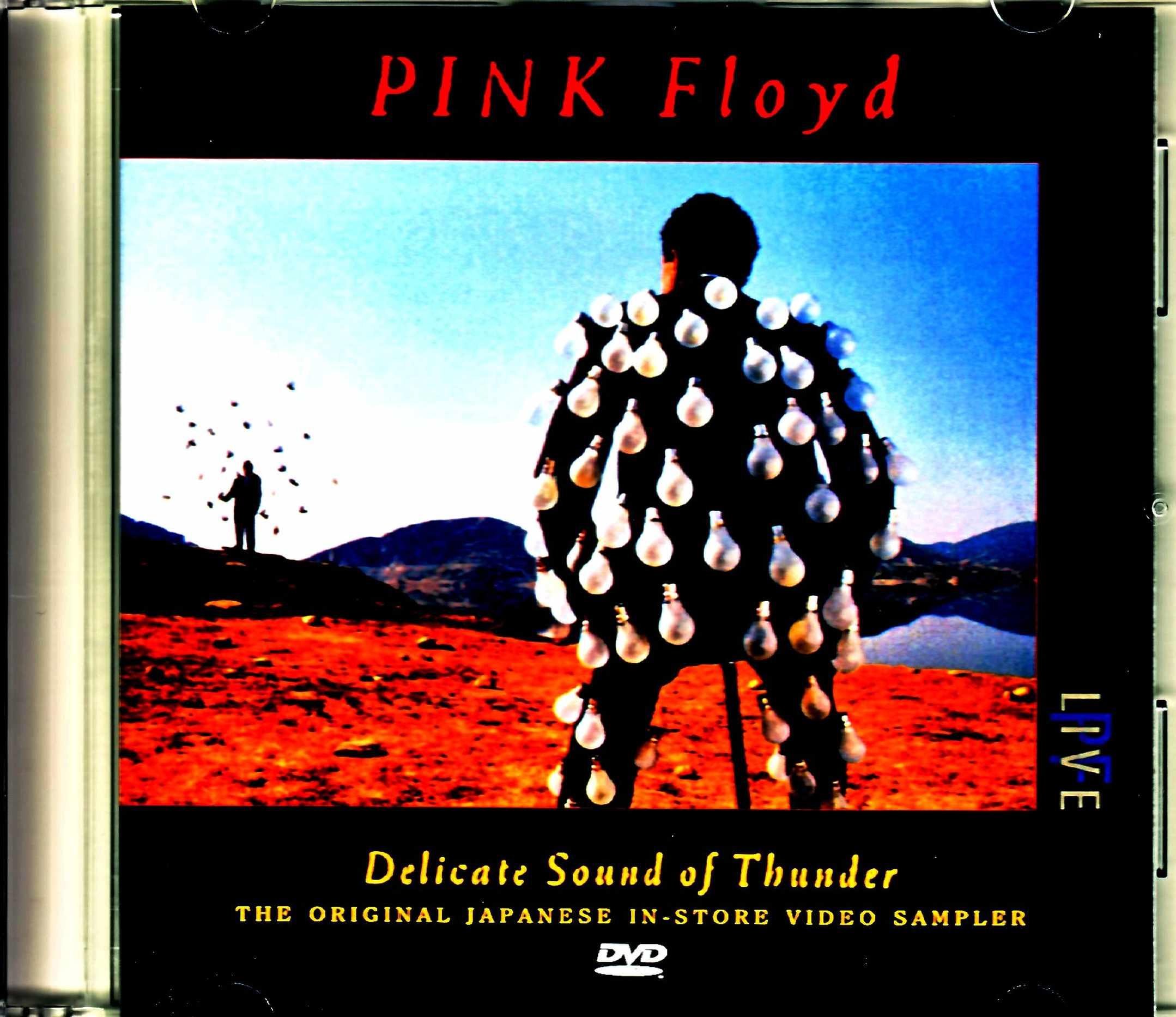 Pink Floyd ピンク・フロイド/Delicate Sound of Thunder Original Japanese in Store Video Sampler Tape